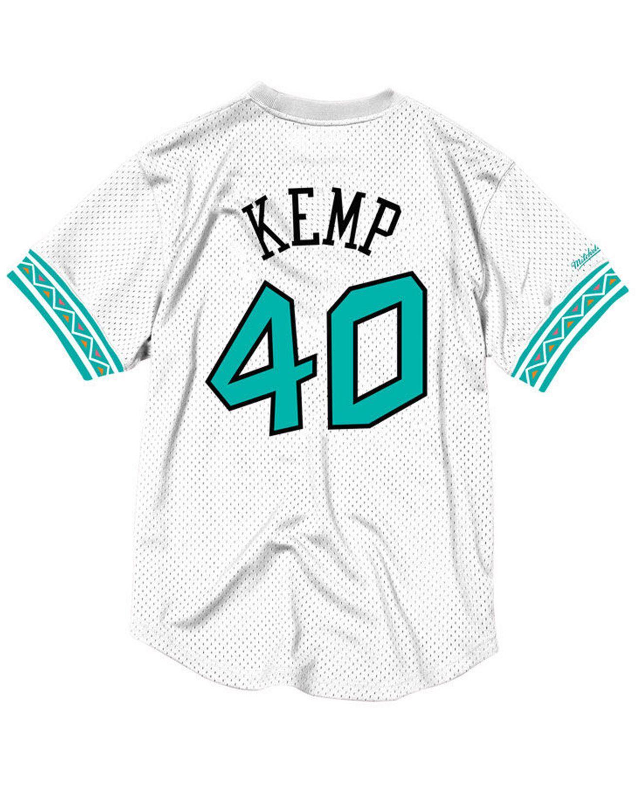545ed4f2d7e4 Lyst - Mitchell   Ness Shawn Kemp Nba All Star 1996 Mesh Crew Neck ...