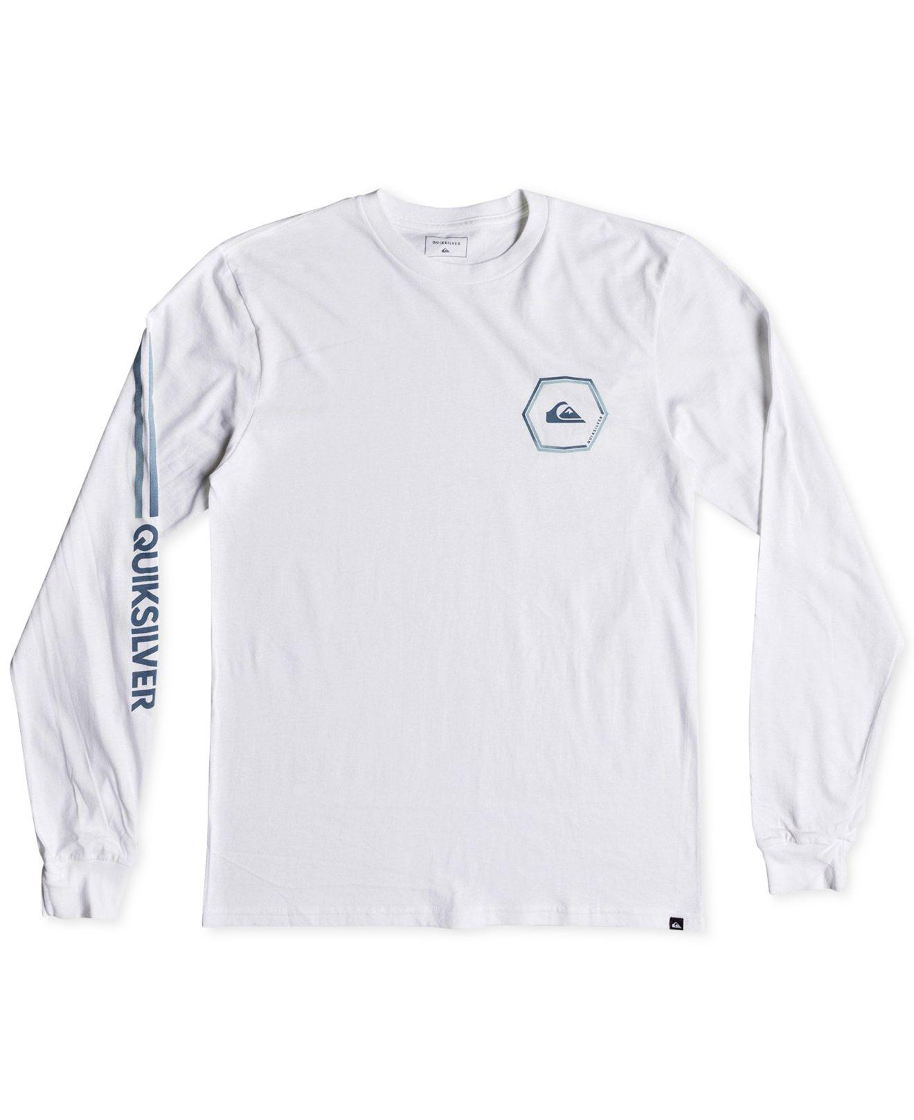 48431426d26a Lyst - Quiksilver Swell Symmetry Logo Graphic T-shirt in White for Men