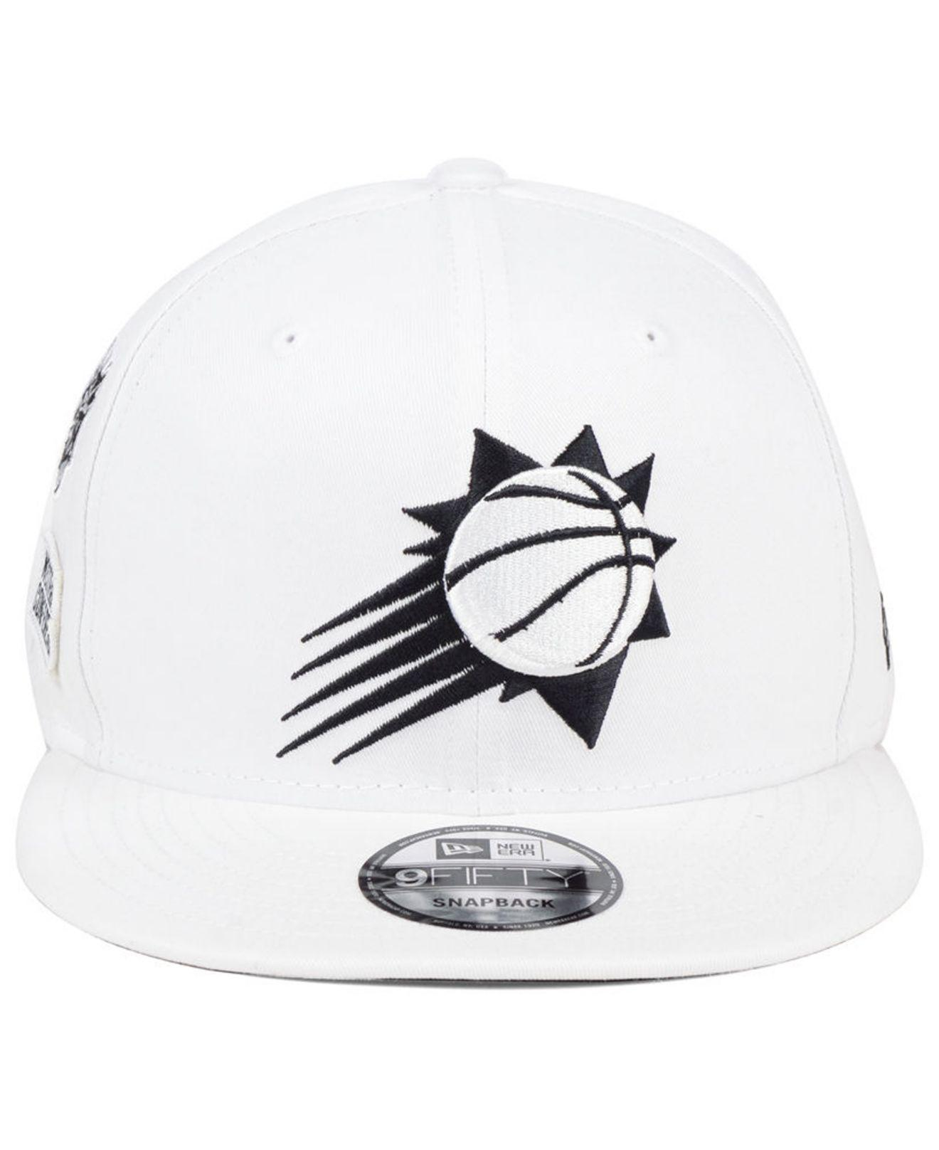 size 40 cf74b e1267 ... wholesale lyst ktz phoenix suns night sky 9fifty snapback cap in white  for men 4ceda c0518