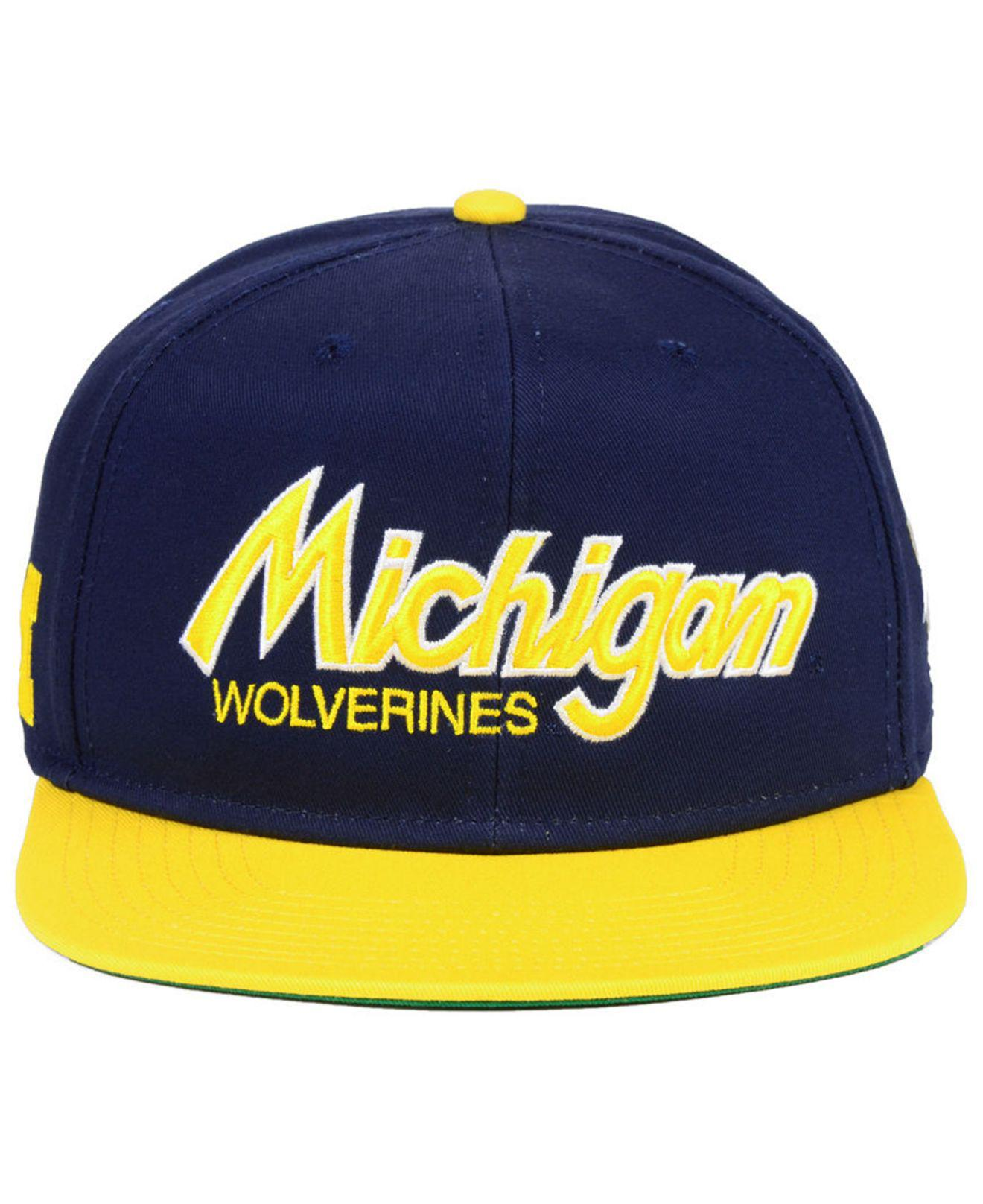 hot lyst nike michigan wolverines sport specialties snapback cap in blue for  men 3d97b 8e16e 891b08846054