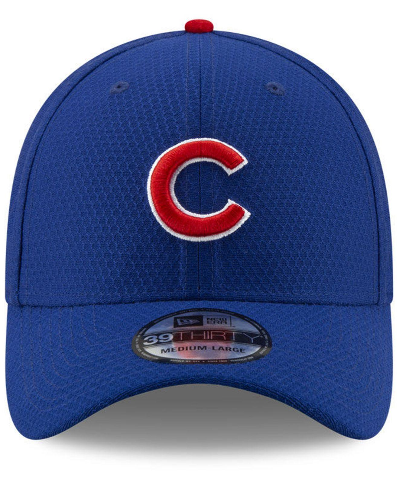 timeless design c7143 044f8 Lyst - KTZ Chicago Cubs Batting Practice 39thirty Cap in Blue for Men