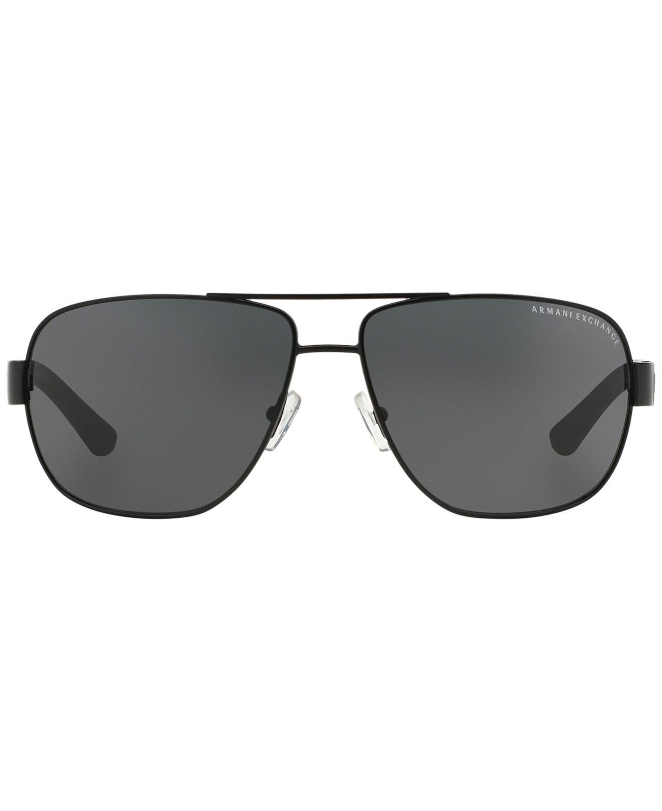 91be0b1fc Armani Exchange Ax Ax2012s 62 in Black for Men - Save 39% - Lyst