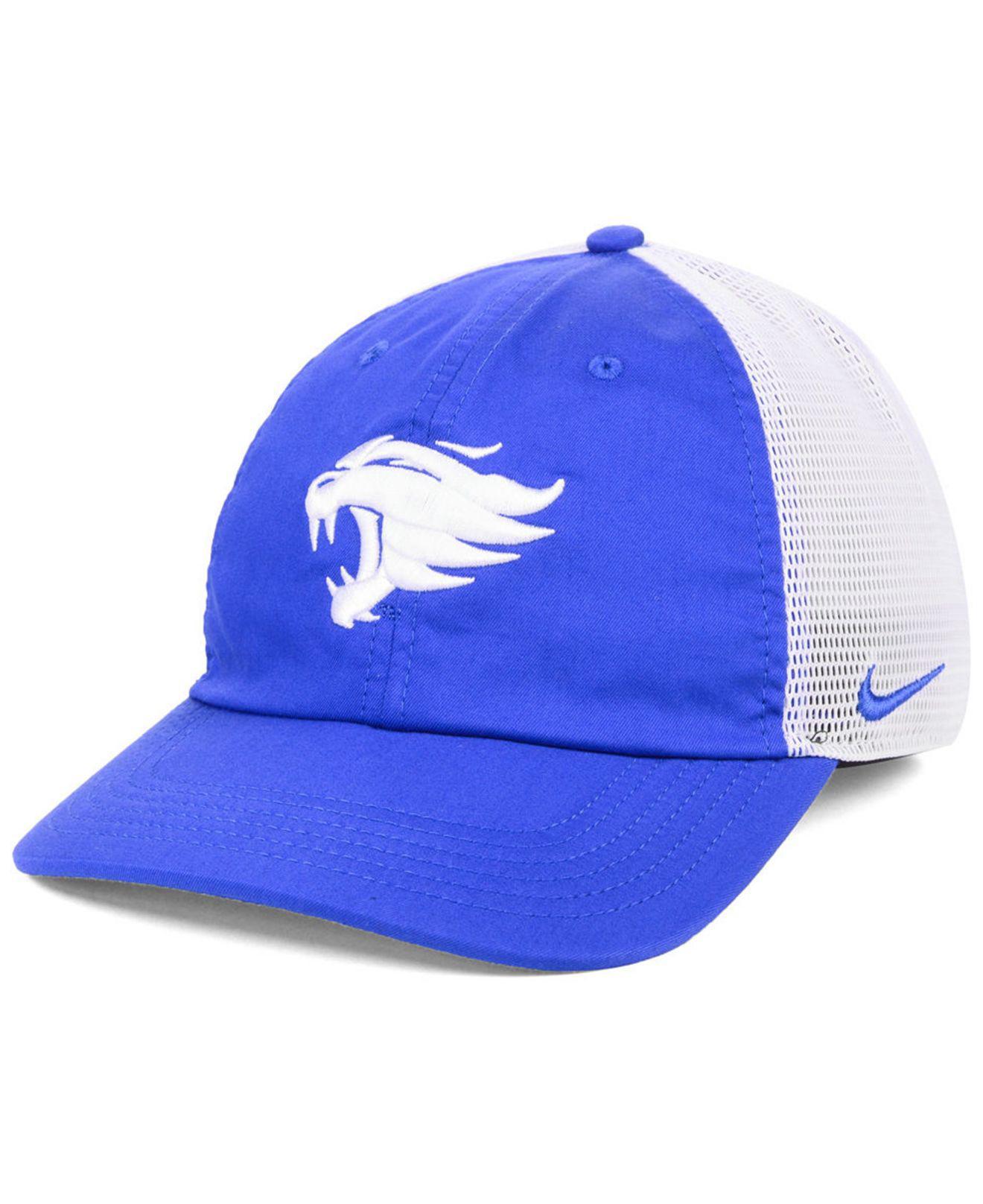 a421576ee Lyst - Nike Kentucky Wildcats H86 Trucker Snapback Cap in Blue for Men