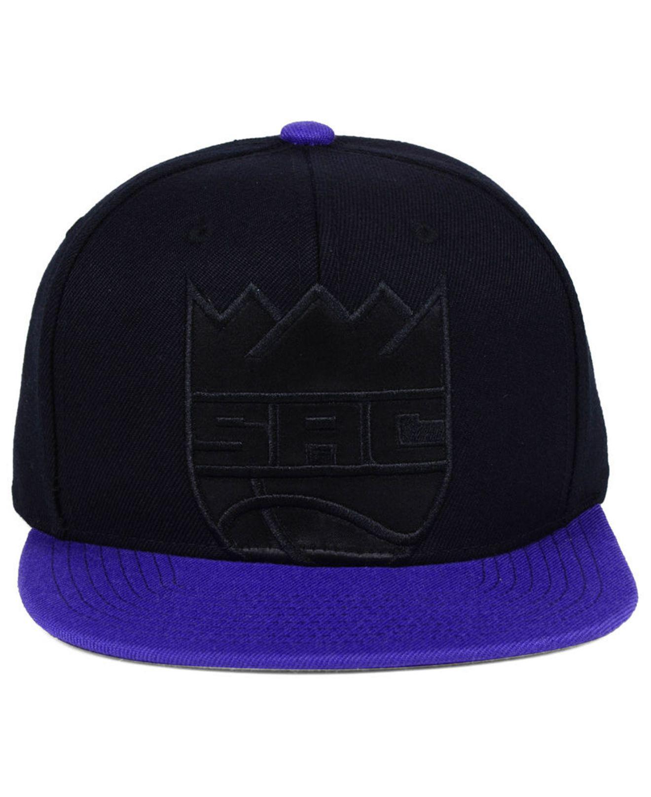reputable site c1511 e7d29 ... switzerland lyst mitchell ness sacramento kings cropped satin snapback  cap for men 3e2de becd3