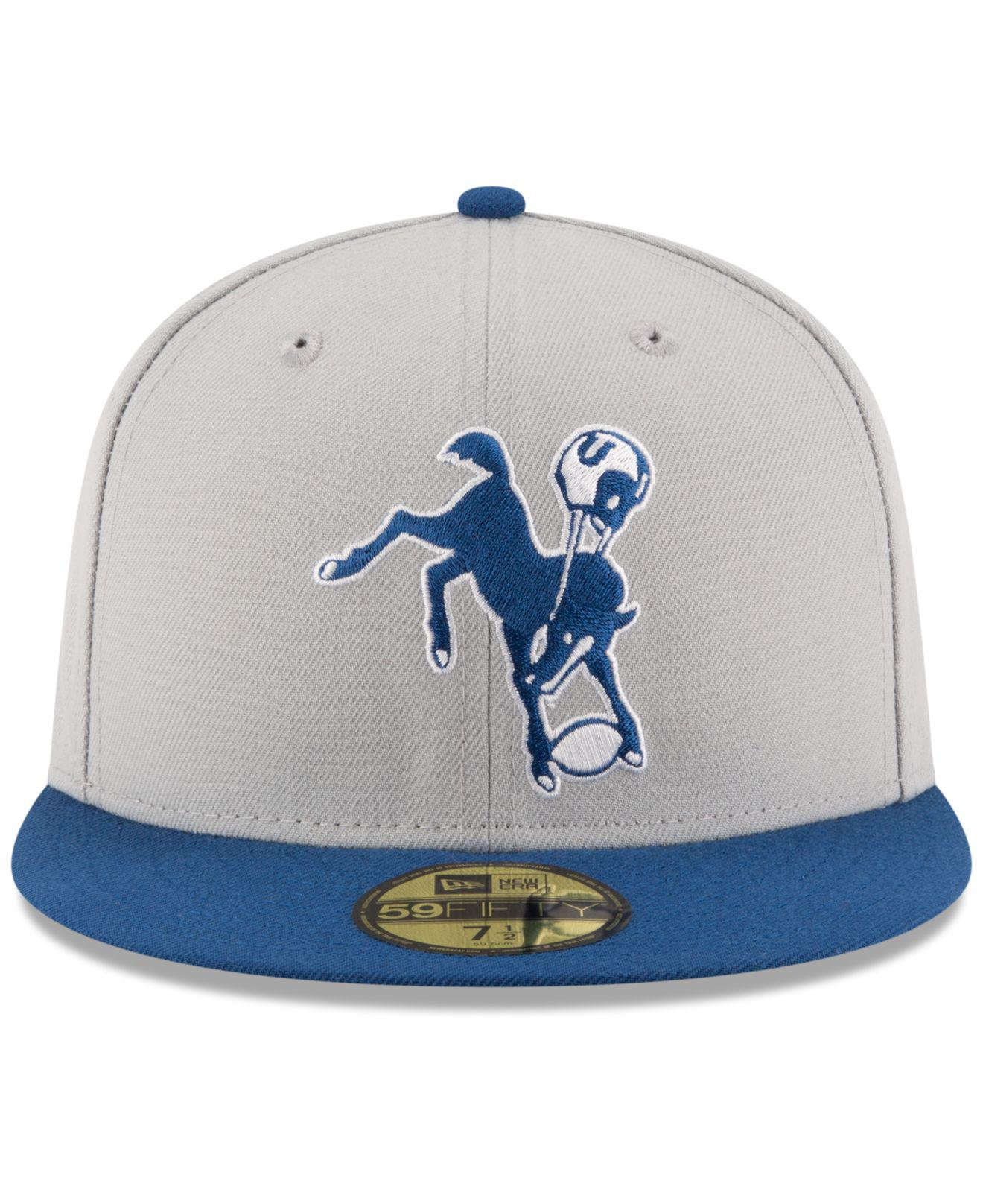 fd38836b306 Lyst - KTZ Indianapolis Colts Team Basic 59fifty Cap for Men
