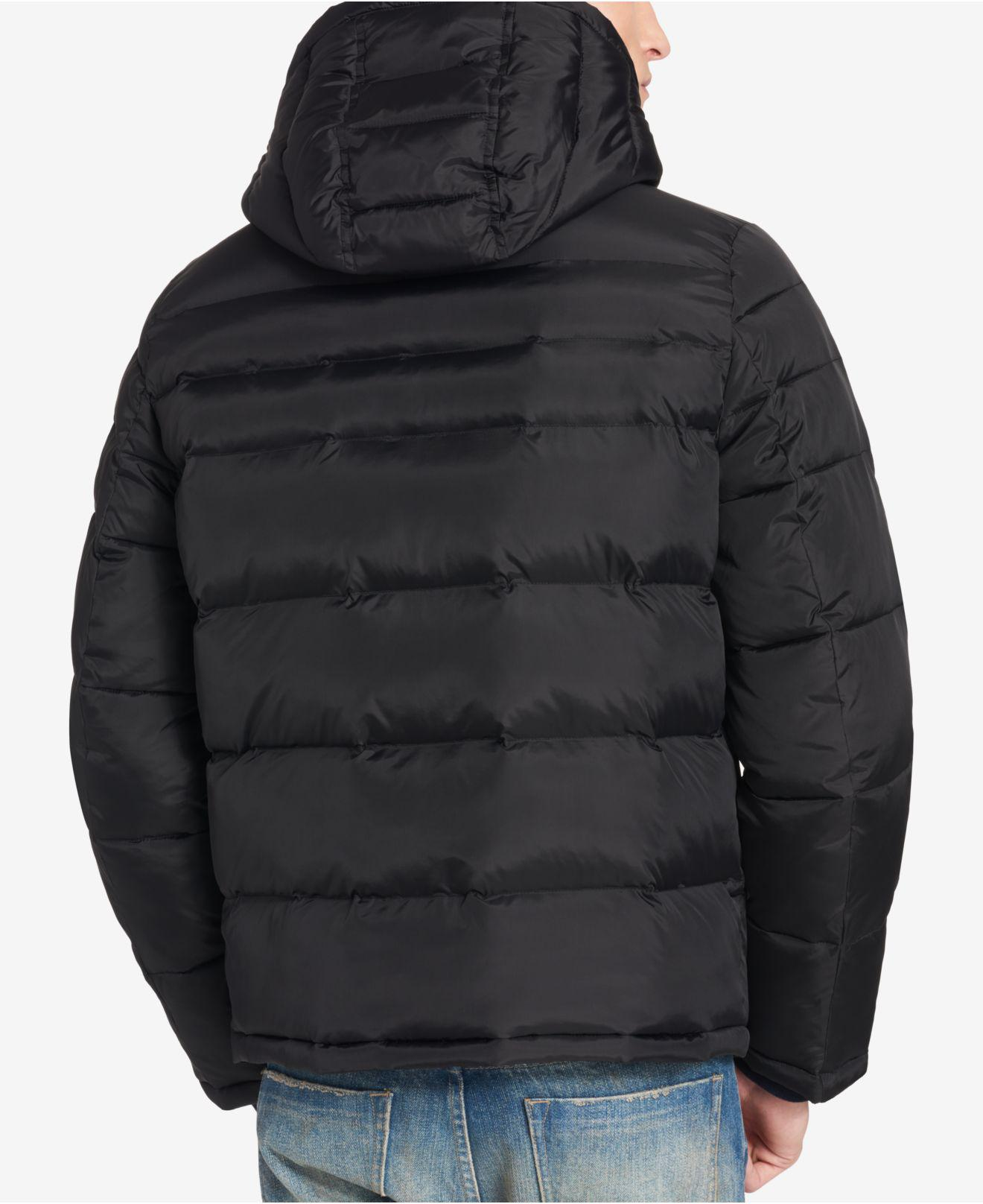 7fca8b53 Lyst - Tommy Hilfiger Quilted Puffer Jacket, Created For Macy's in Black  for Men - Save 28.888888888888886%