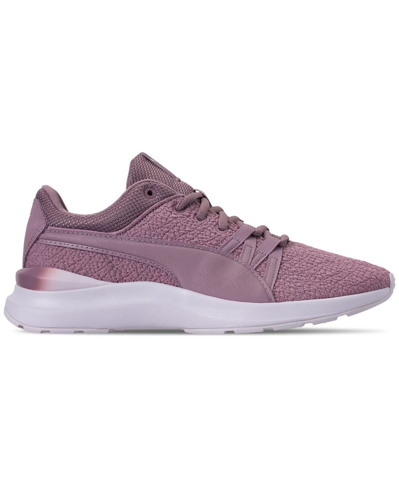 Lyst - PUMA Adela Gradient Casual Sneakers From Finish Line in Purple 457da2179