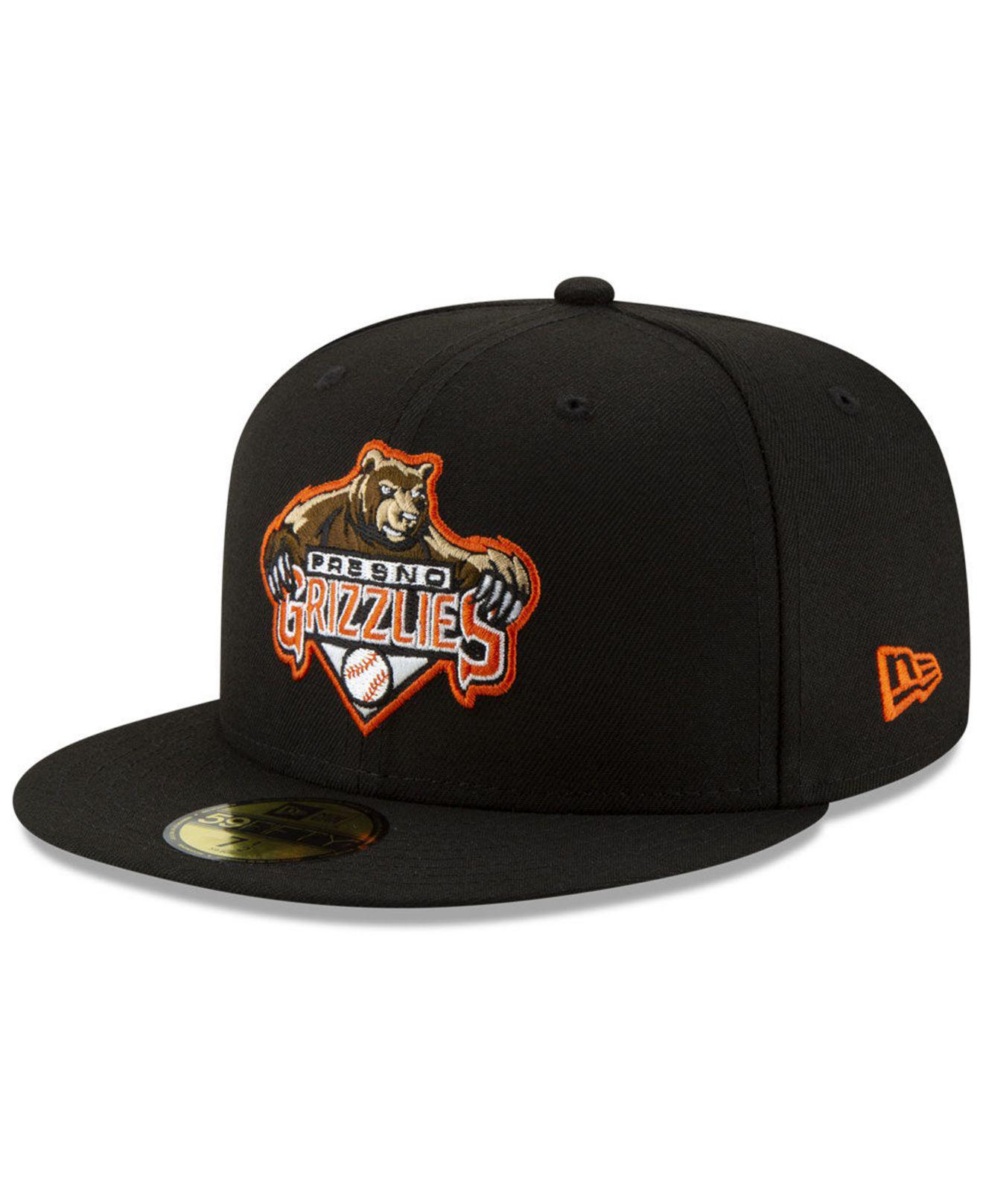 online store c9ec9 b3bbe Lyst - KTZ Fresno Grizzlies League Patch 59fifty-fitted Cap in Black for Men