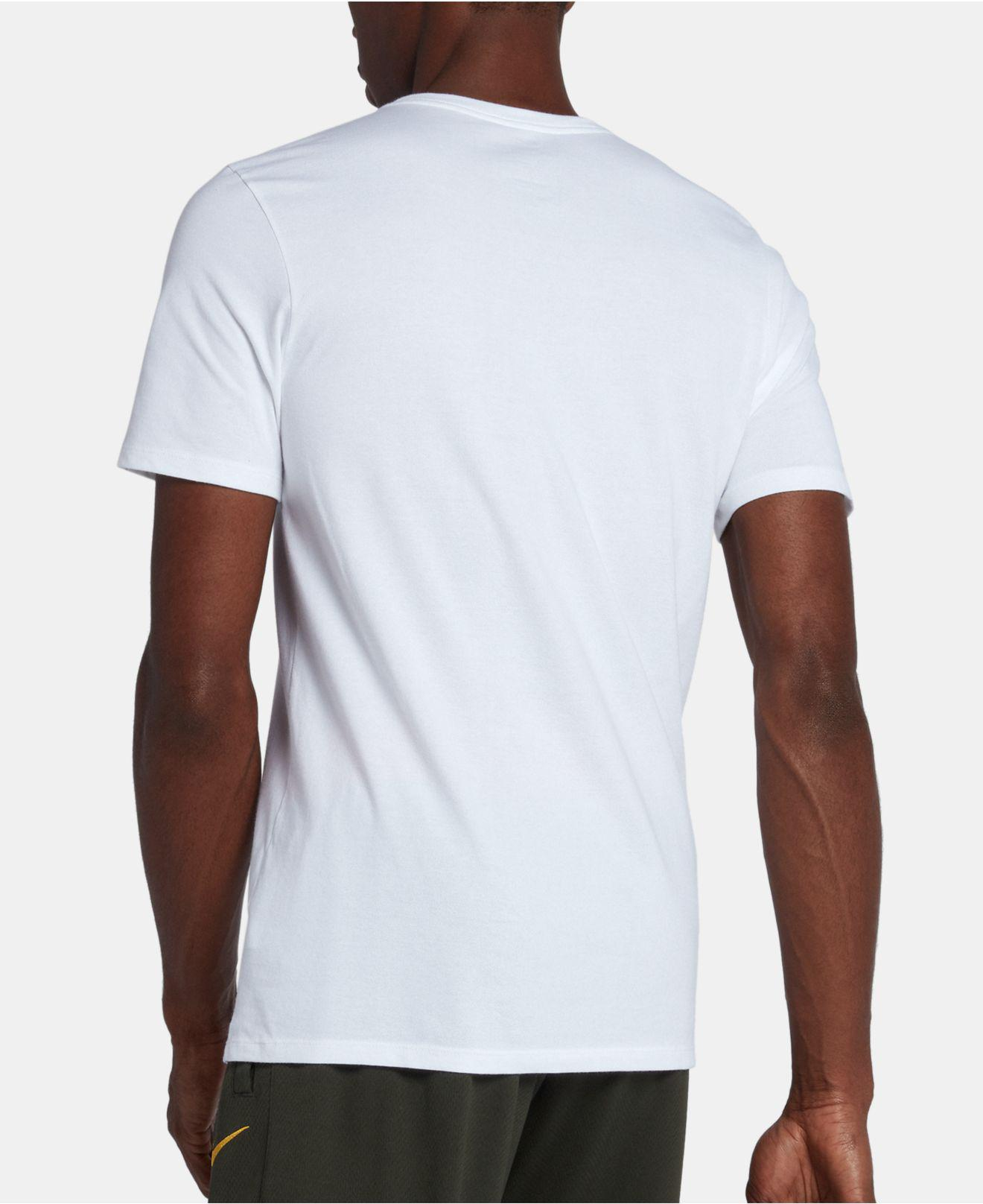 142de97f978 Lyst - Nike Just Do It Dri-fit Basketball T-shirt in White for Men