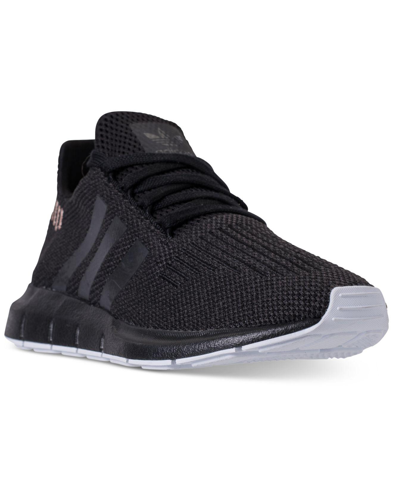 Lyst - Adidas Swift Run Casual Sneakers From Finish Line in Black 582d34ed2