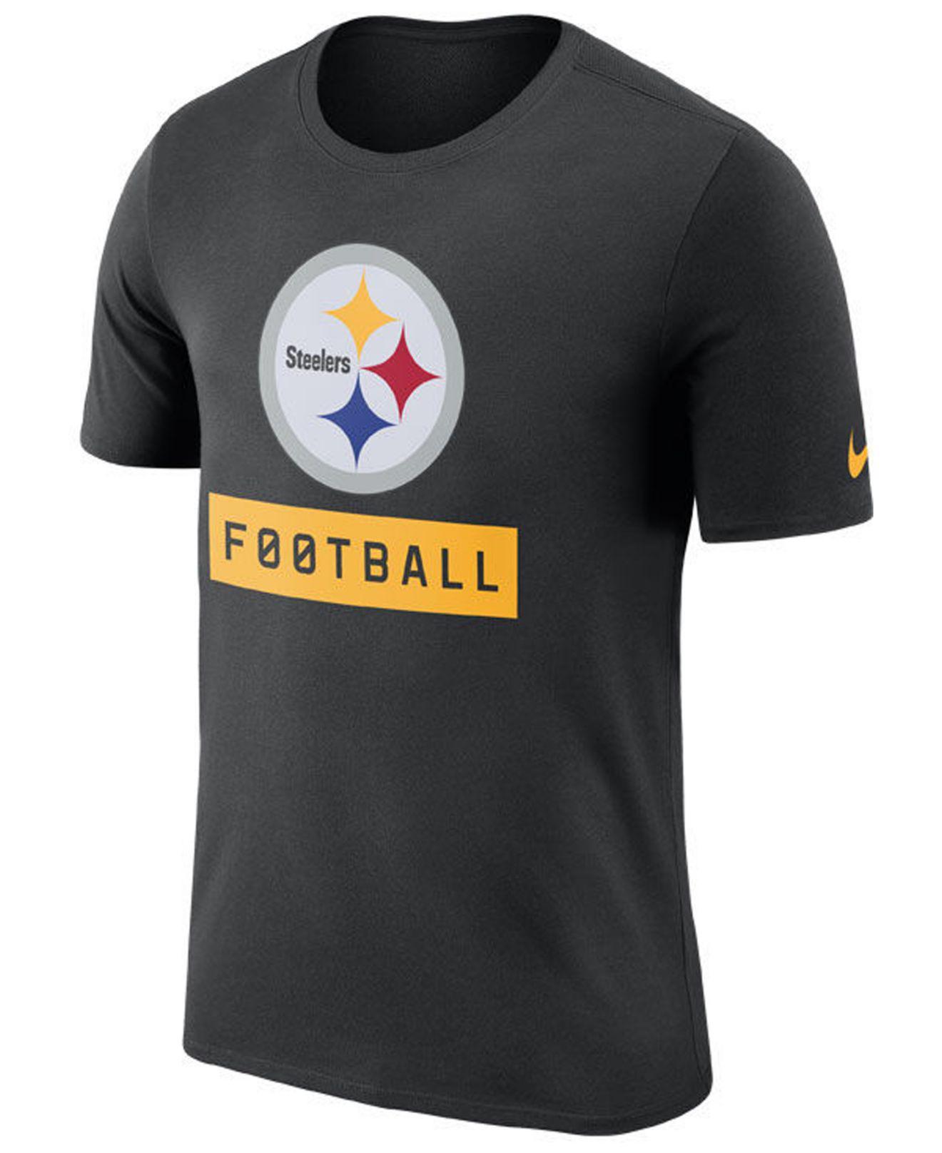 d4f4421cffad Lyst - Nike Pittsburgh Steelers Legend Football Equipment T-shirt in ...