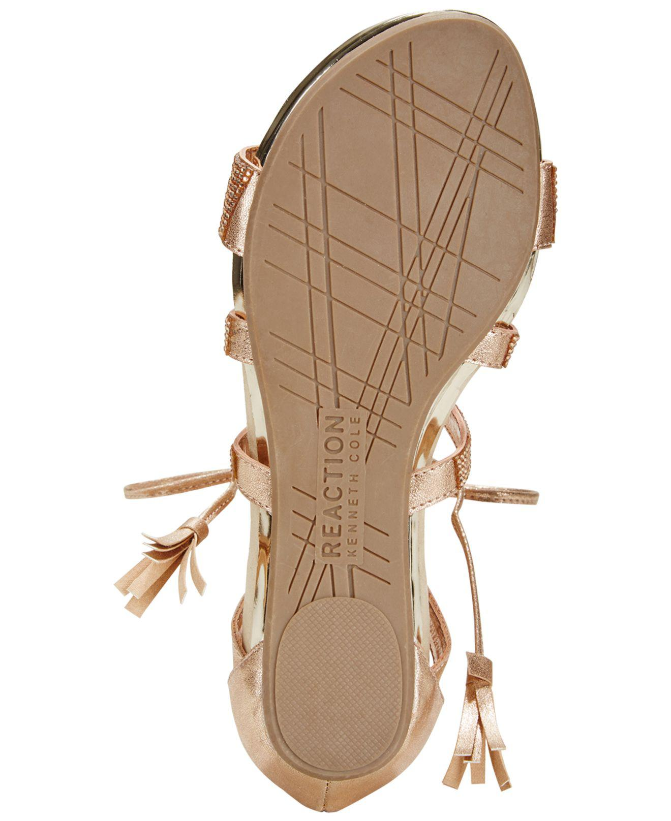 1ea896394fa Lyst - Kenneth Cole Reaction Lost Look 2 Lace-up Gladiator Sandals ...