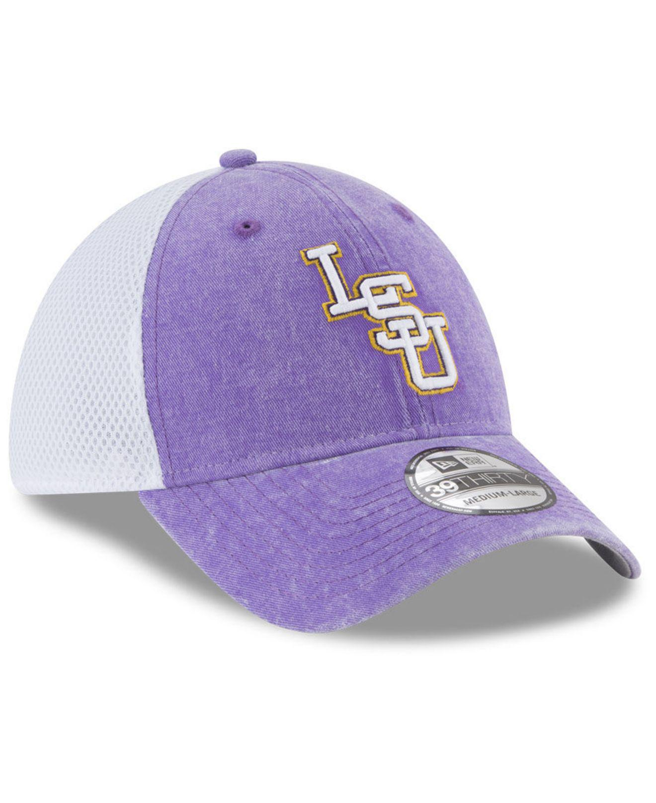 best loved 9426f 0c269 ... aliexpress lyst ktz lsu tigers washed neo 39thirty cap in purple for men  6d447 921f1