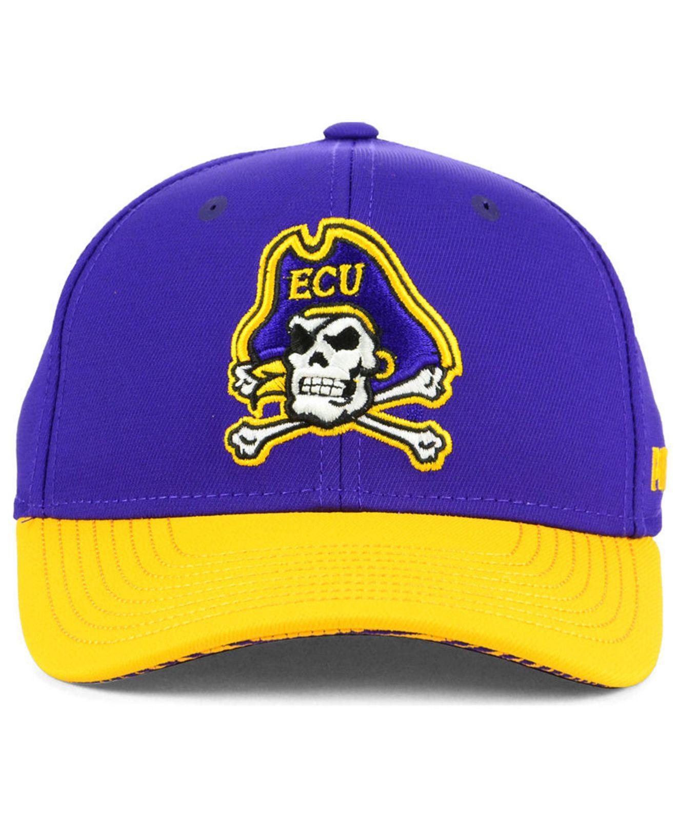 9f6696e90d9 Lyst - adidas East Carolina Pirates Coaches Flex Stretch Fitted Cap ...