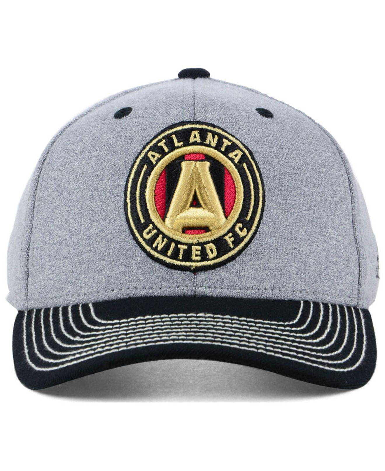 f1e316f59c41a ... new style lyst adidas atlanta united fc structure adjustable cap for  men acc68 8dbea