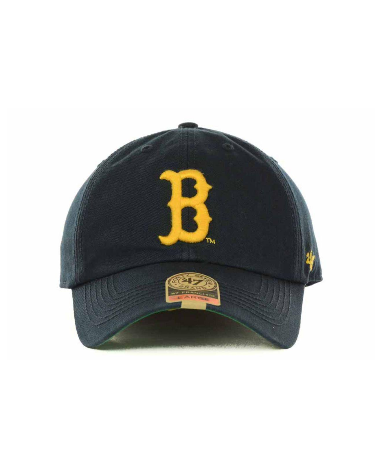 49a33068942cc ... clean up adjustable hat navy 97589 4282a  australia lyst 47 brand ucla  bruins franchise cap in blue for men c655c eda88