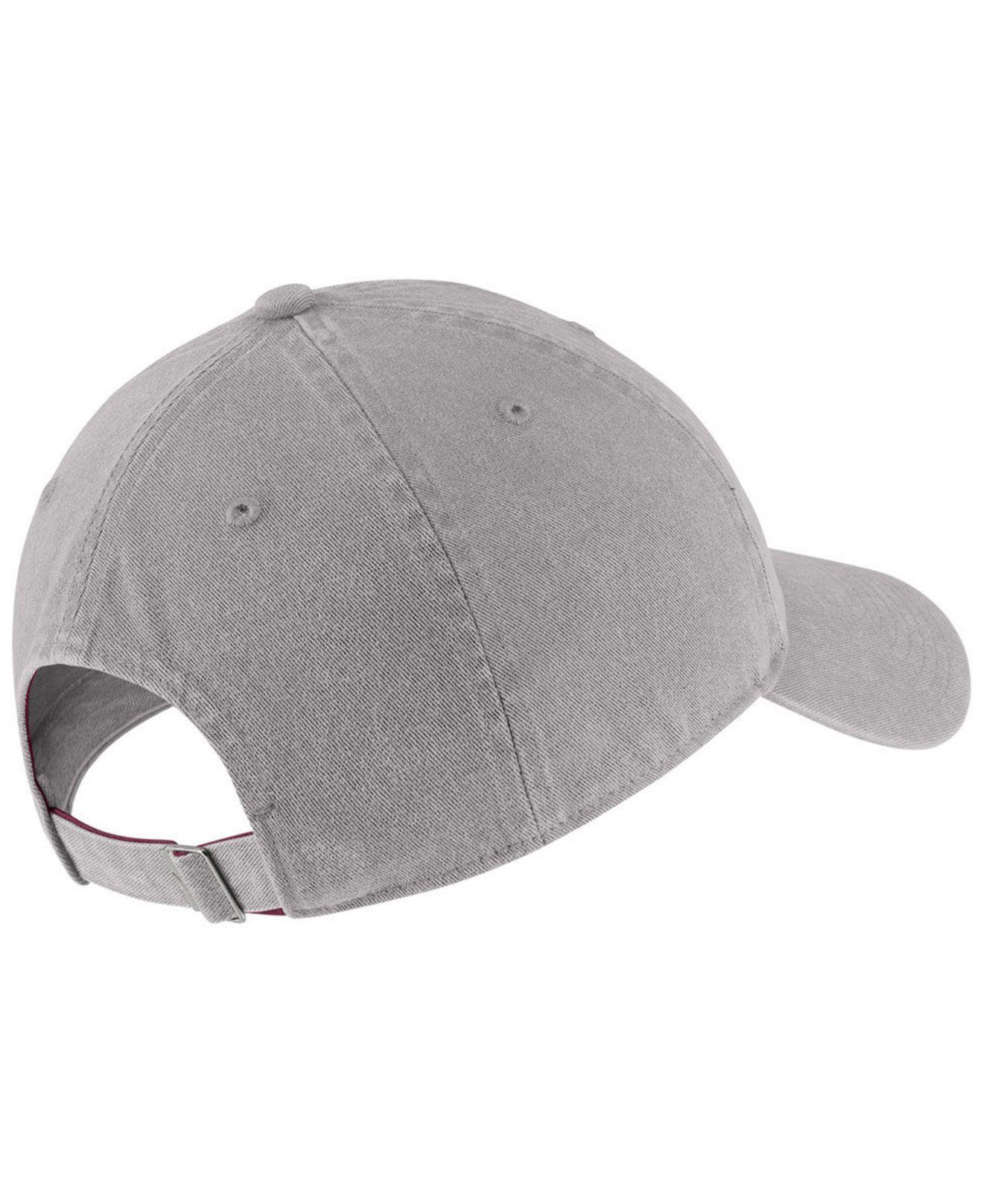 buy popular 53b26 2d1bd Lyst - Nike Florida State Seminoles H86 Washed Strapback Cap in Gray for Men