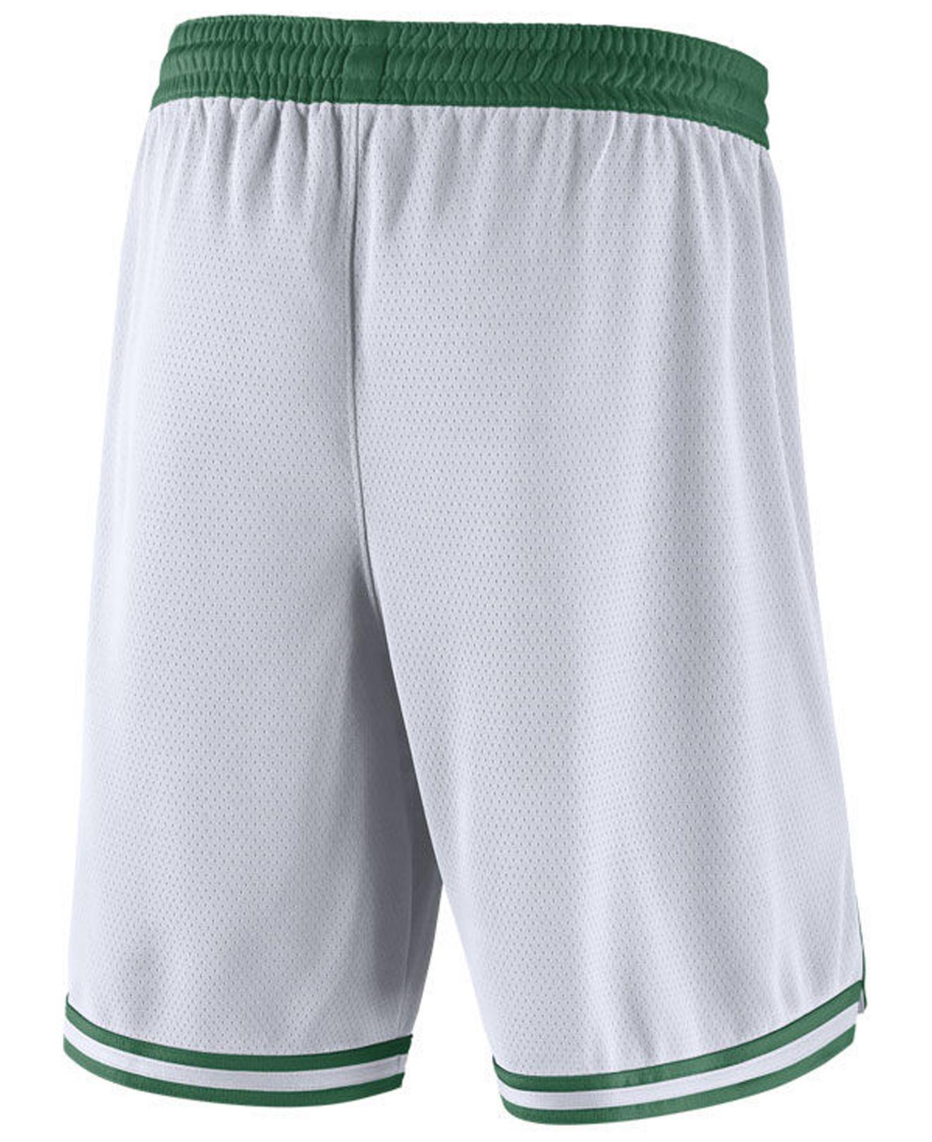 39dff8790b77b1 Lyst - Nike Boston Celtics Association Swingman Shorts in White for Men