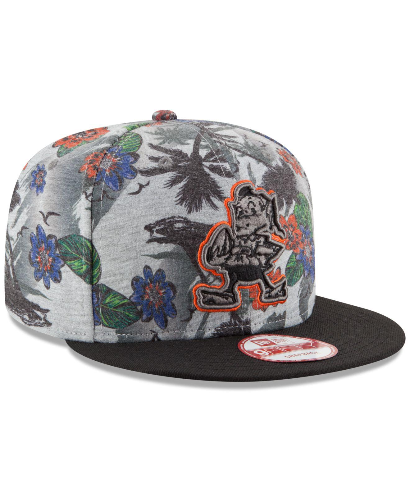 new product 834d1 477e5 ... ebay lyst ktz cleveland browns cool breeze trop 9fifty snapback cap in  cbf6b 91725