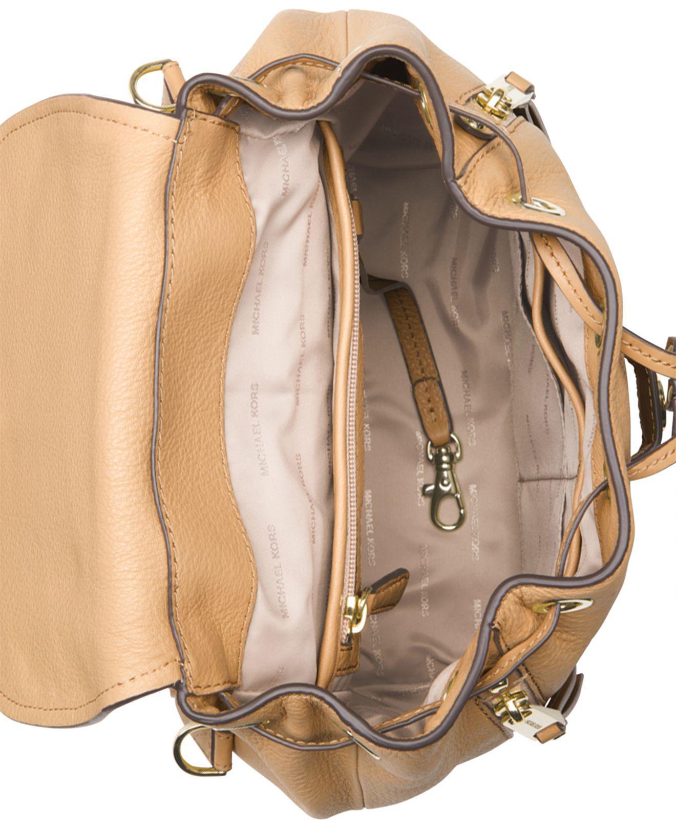 440d0b60fdd1 Michael Kors Michael Evie Small Flower Garden Backpack in Metallic ...
