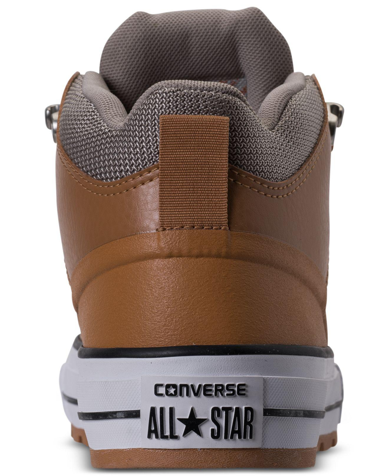 converse mid leather boot