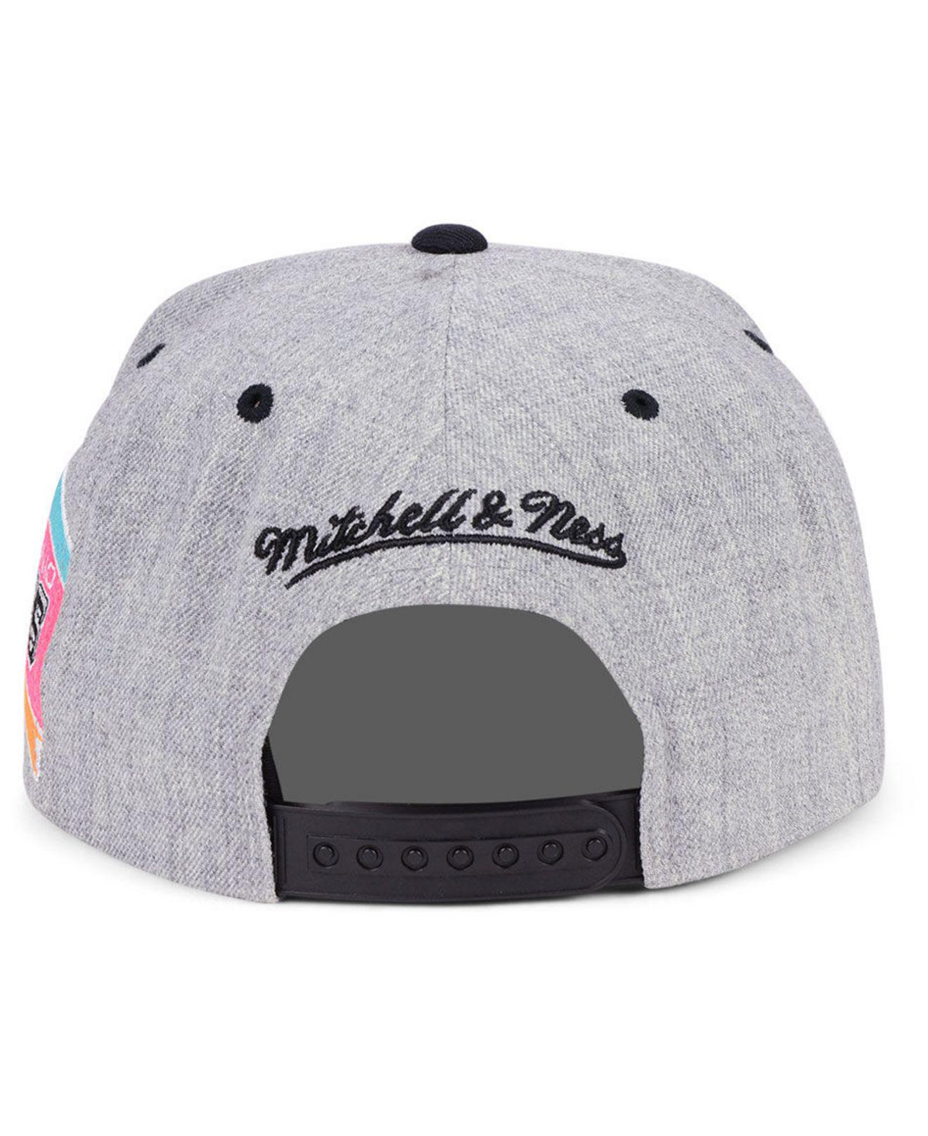 best sneakers 7b573 9a7c6 ... clearance lyst mitchell ness san antonio spurs side panel cropped  snapback 0664c eb240