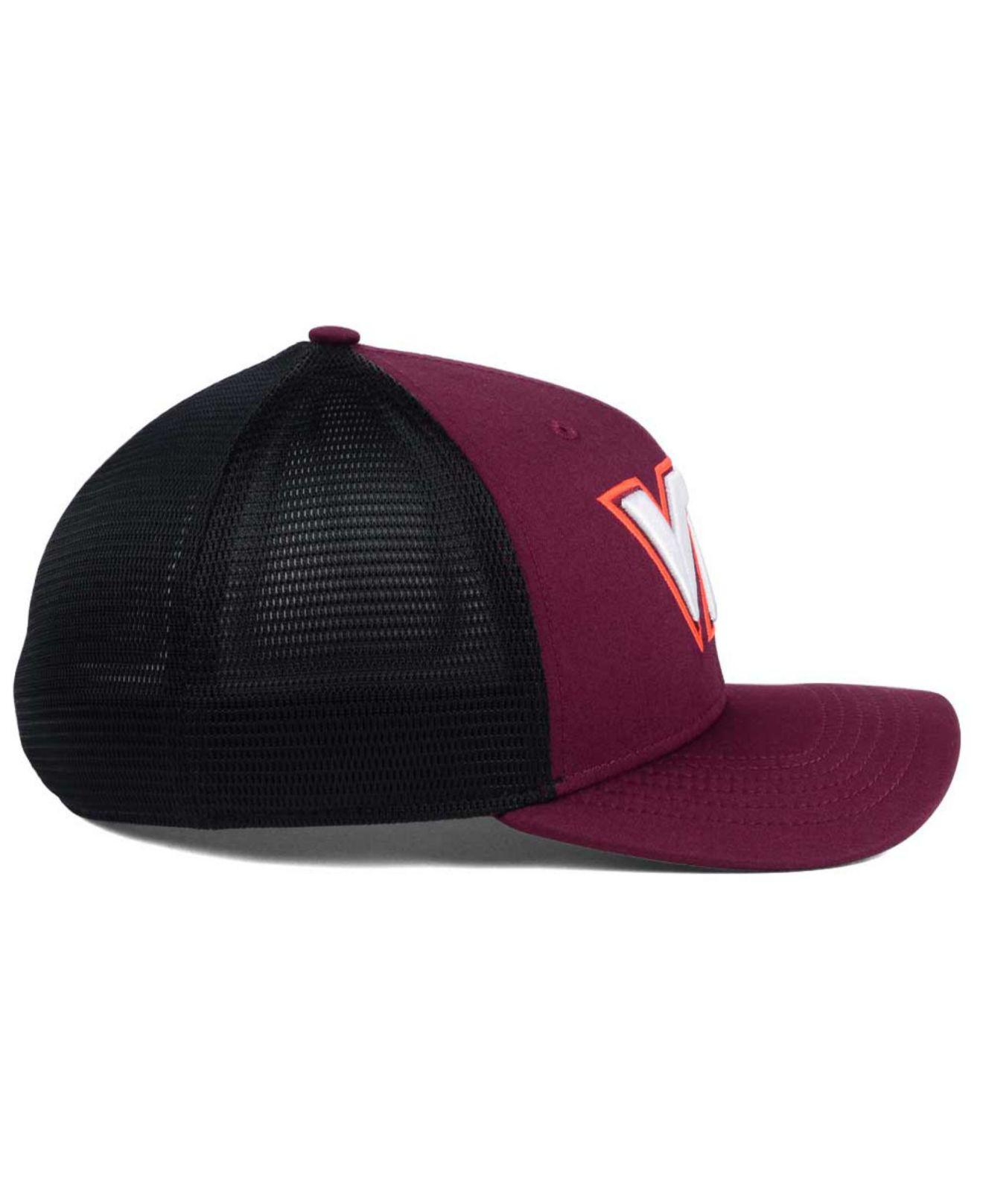 online store 8be02 f505a ... adjustable hat maroon 2bed0 d936e  get lyst nike virginia tech hokies  aero bill mesh swooshflex cap for men 37c4f eceb0