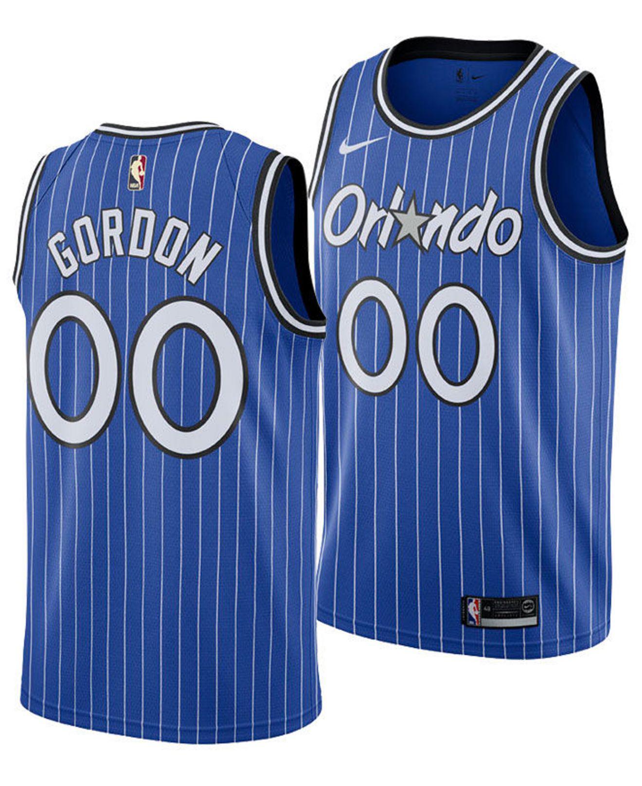 4882ac0c41a Nike - Blue Aaron Gordon Orlando Magic Hardwood Classic Swingman Jersey for  Men - Lyst. View fullscreen
