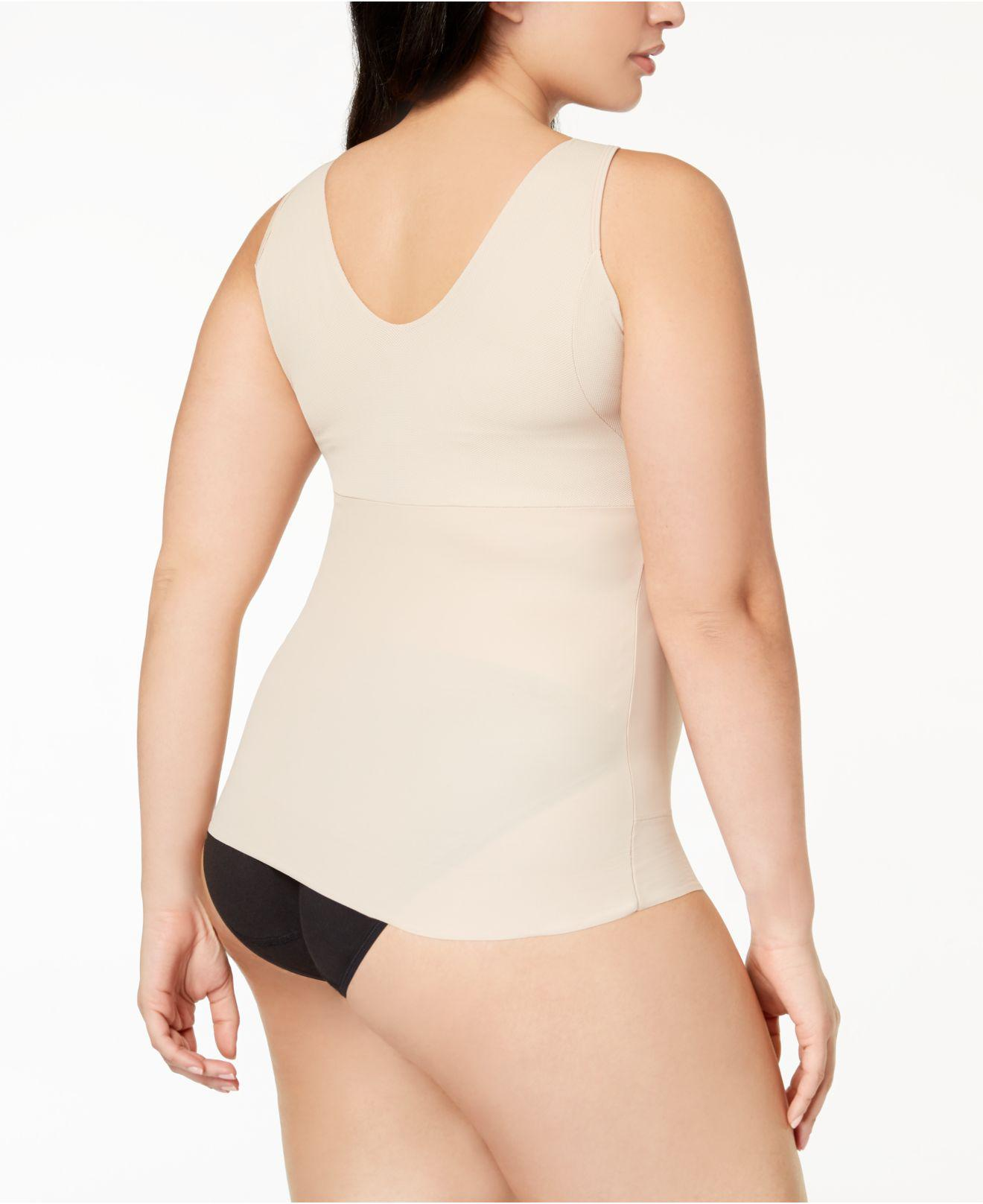 21f410c8a7 Lyst - Miraclesuit Cool Choice Plus Size Extra-firm-control Camisole 2403  in Natural