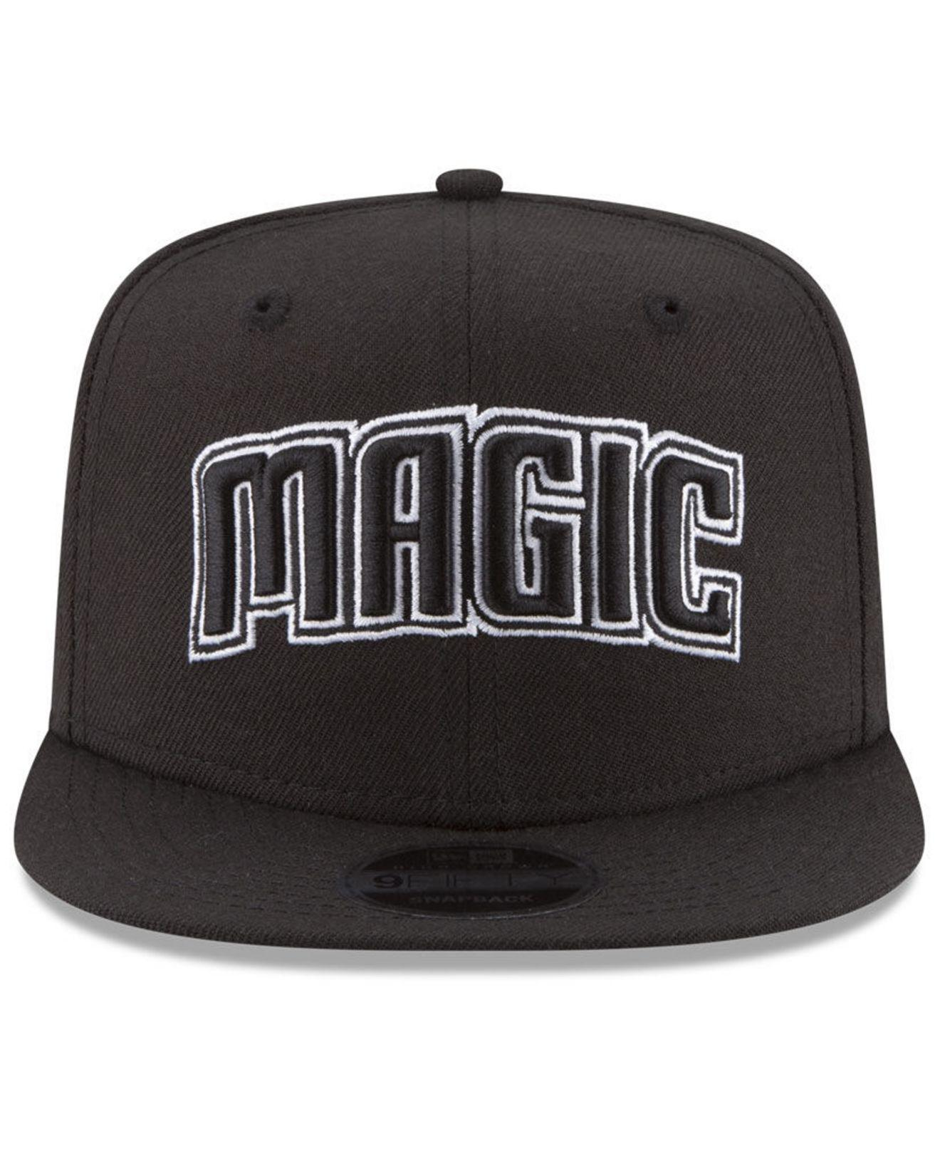 size 40 81093 4fd4a Lyst - KTZ Orlando Magic Anniversary Patch 9fifty Snapback Cap in Black for  Men