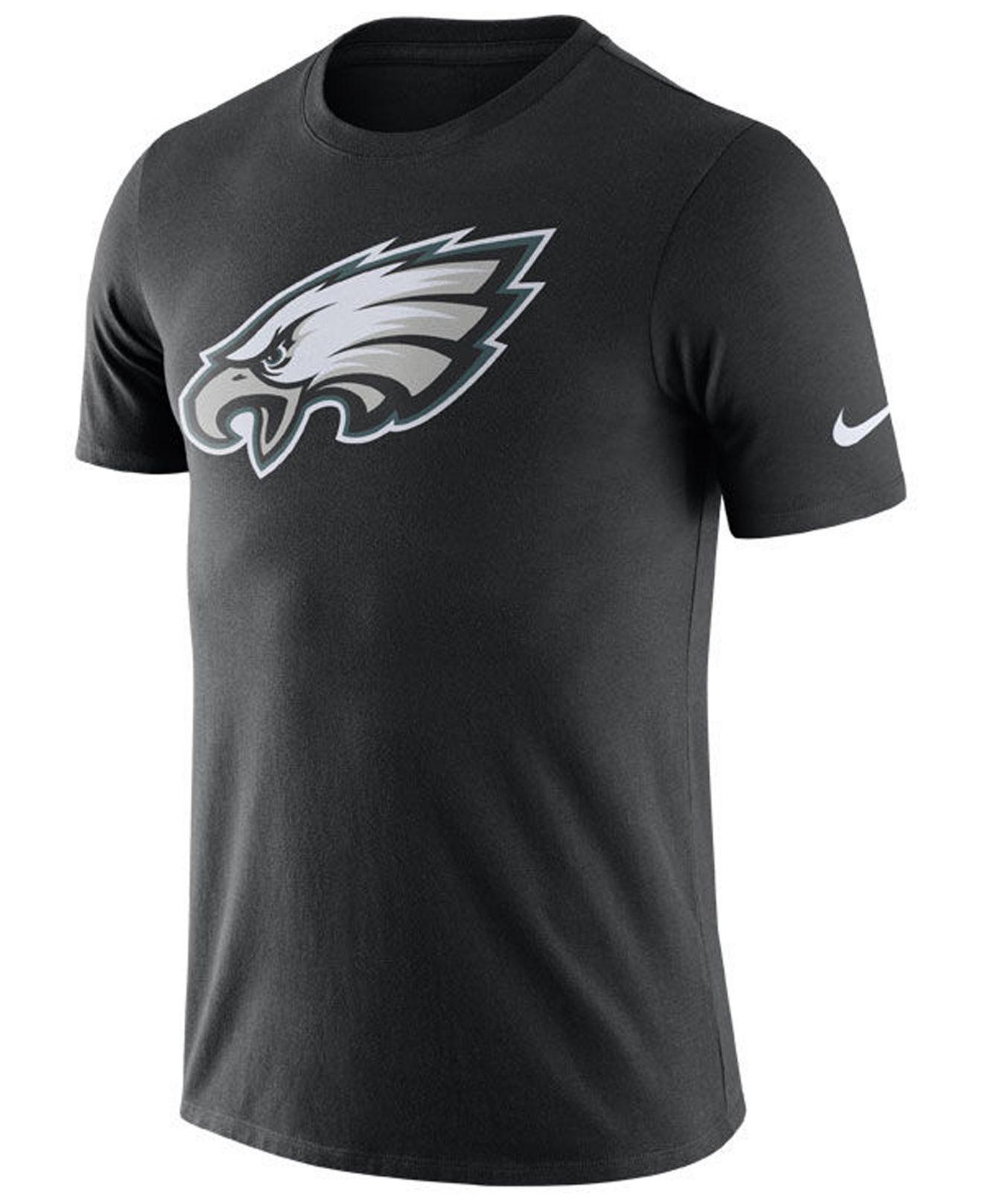 d41e699f Lyst - Nike Philadelphia Eagles Dri-fit Cotton Essential Logo T ...