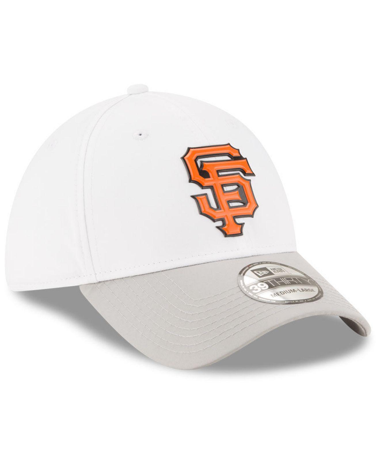 1fb95794a78e5 wholesale white batting practice 39thirty cap for men lyst. view fullscreen  8b990 89070