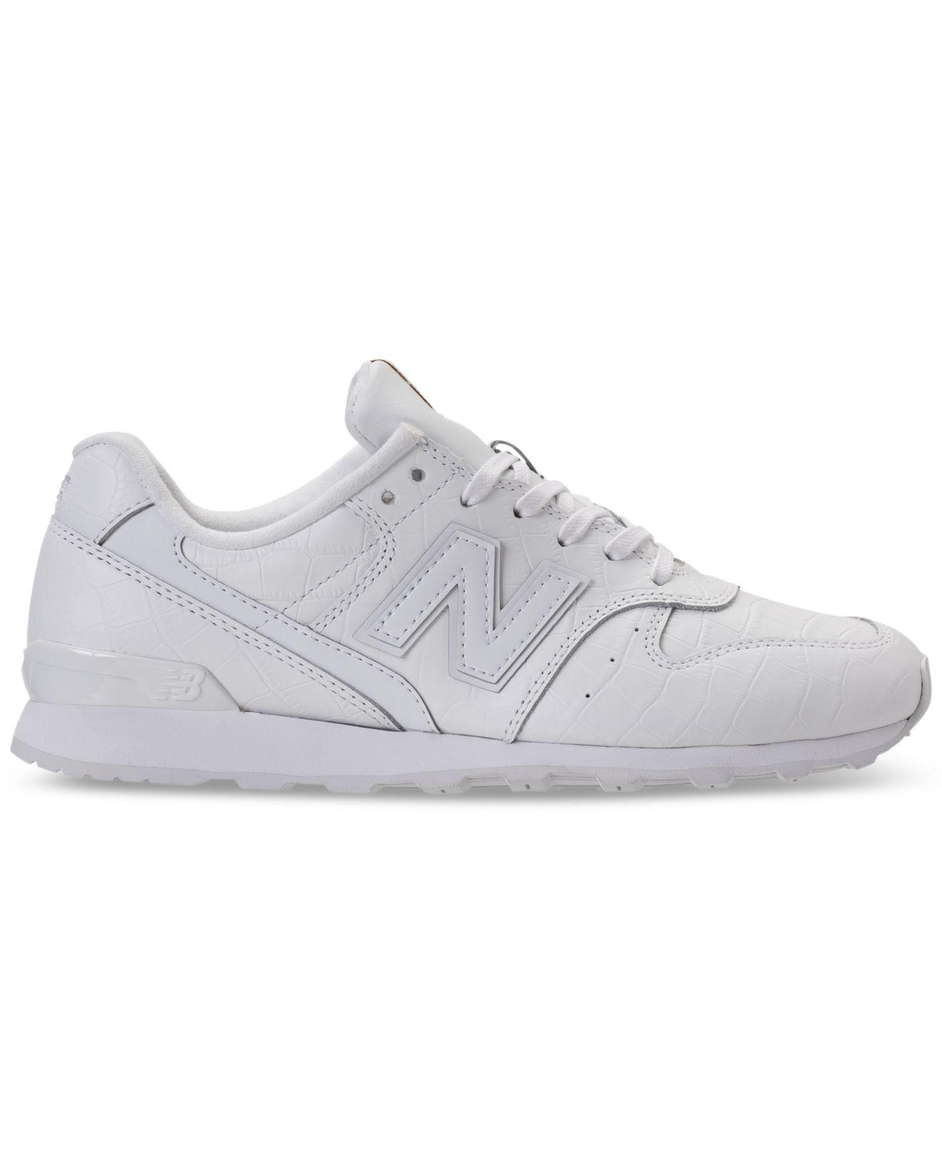 21a9facdeb6e9 New Balance Women's 696 Leather Casual Sneakers From Finish Line in ...