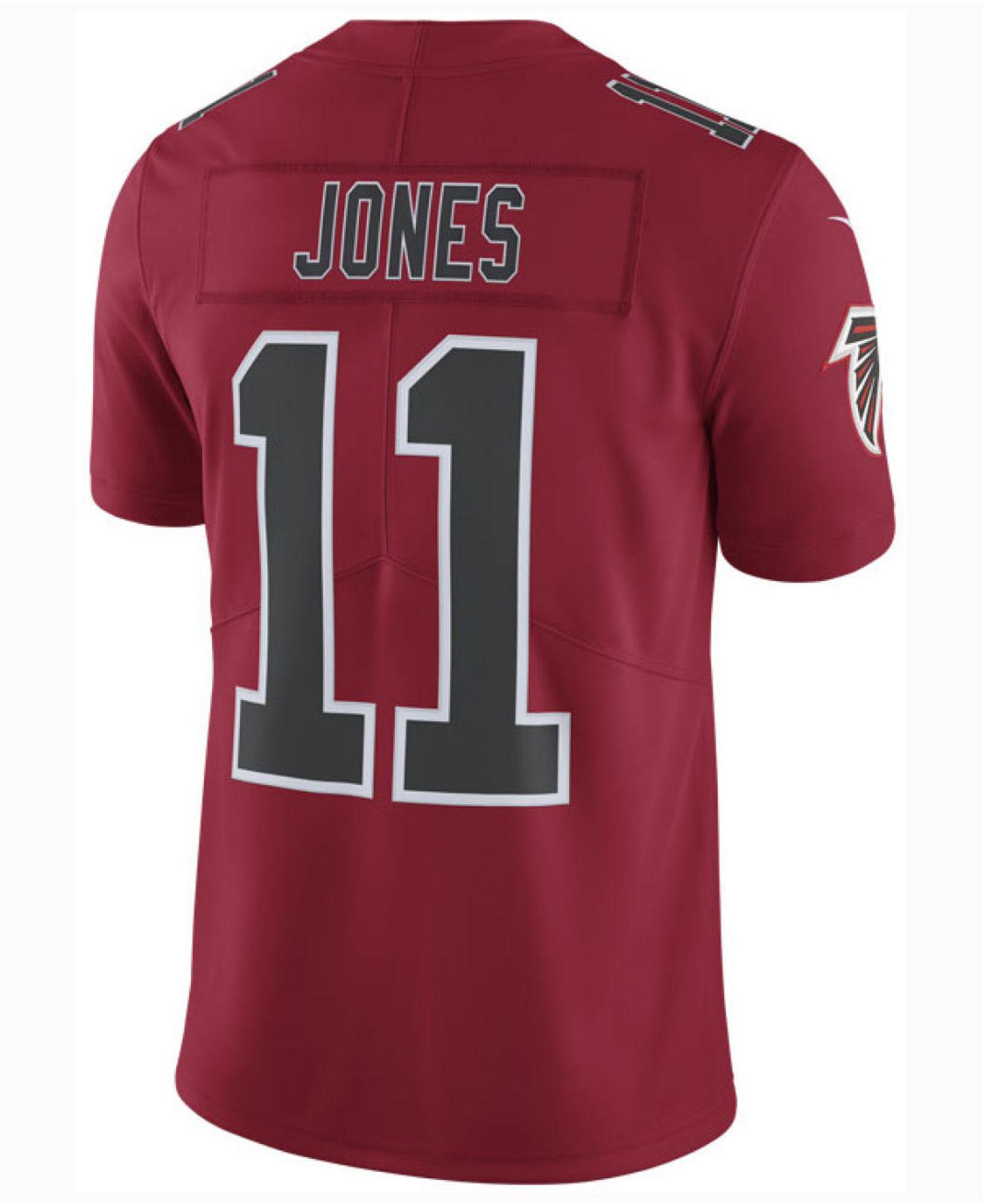 Lyst - Nike Julio Jones Atlanta Falcons Limited Color Rush Jersey in ... bec4e4fab