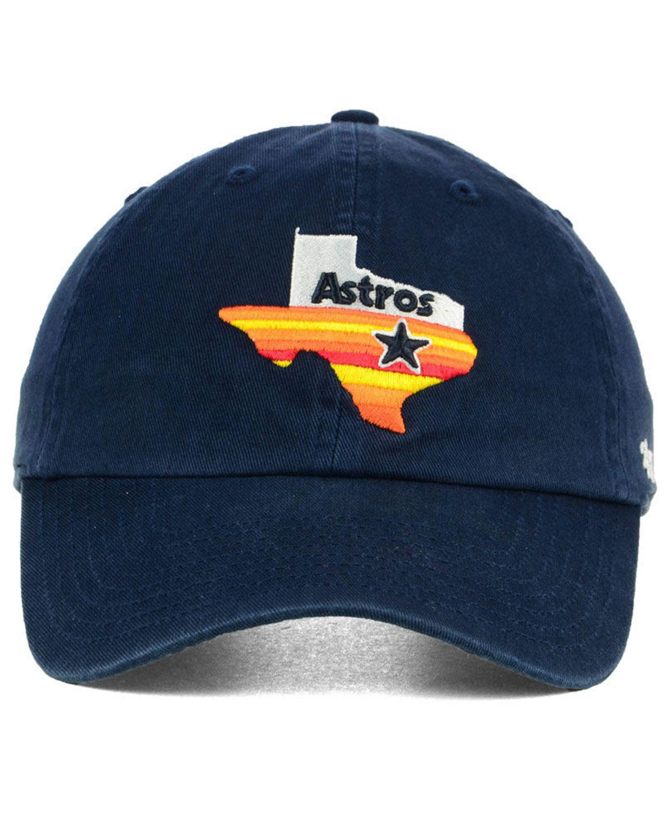 28d3db3cd888c Lyst - 47 Brand Houston Astros Core Clean Up Cap in Blue for Men