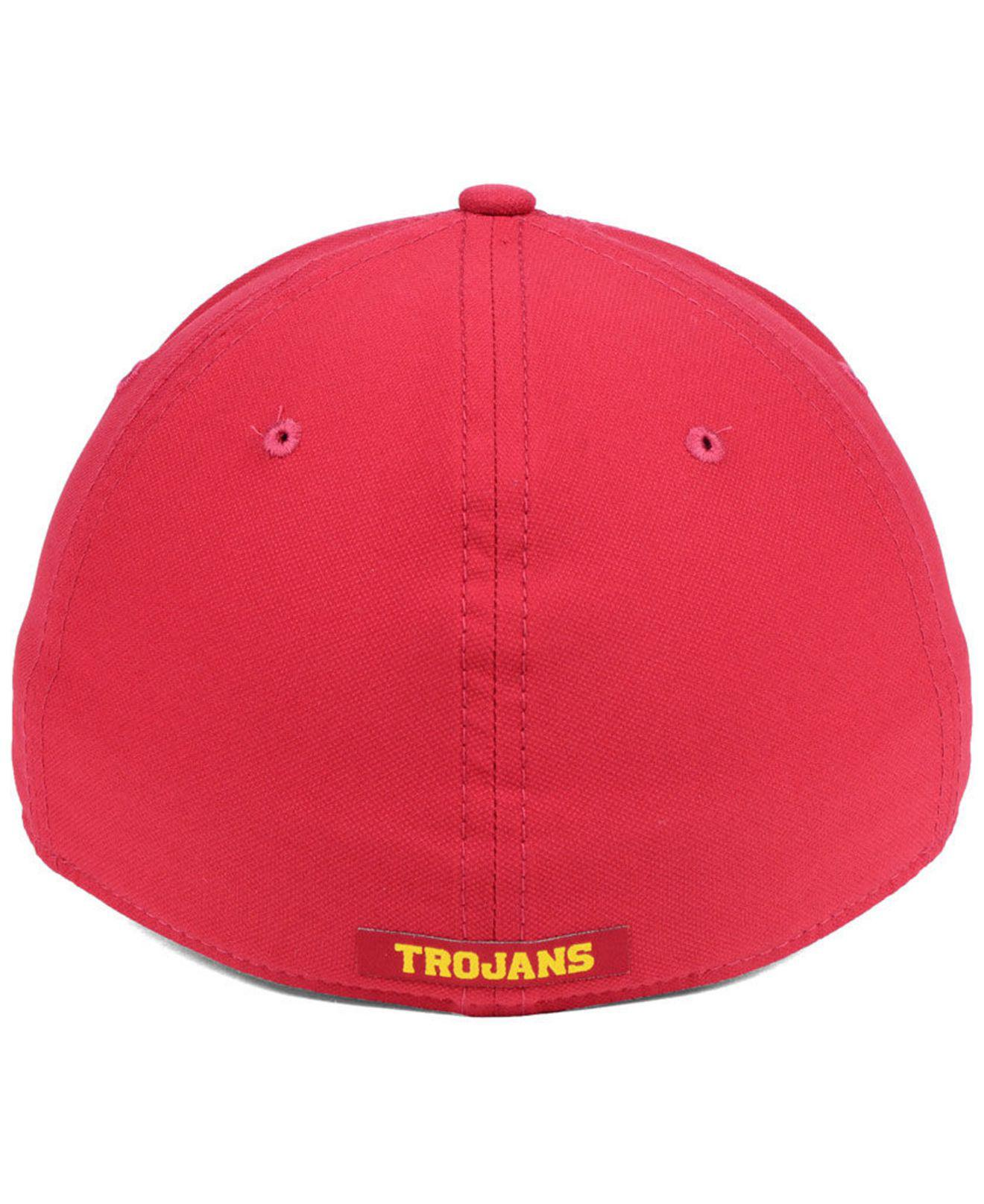 856b9274f2fa9 italy nike red usc trojans arobill swoosh flex cap for men lyst. view  fullscreen f8f5a