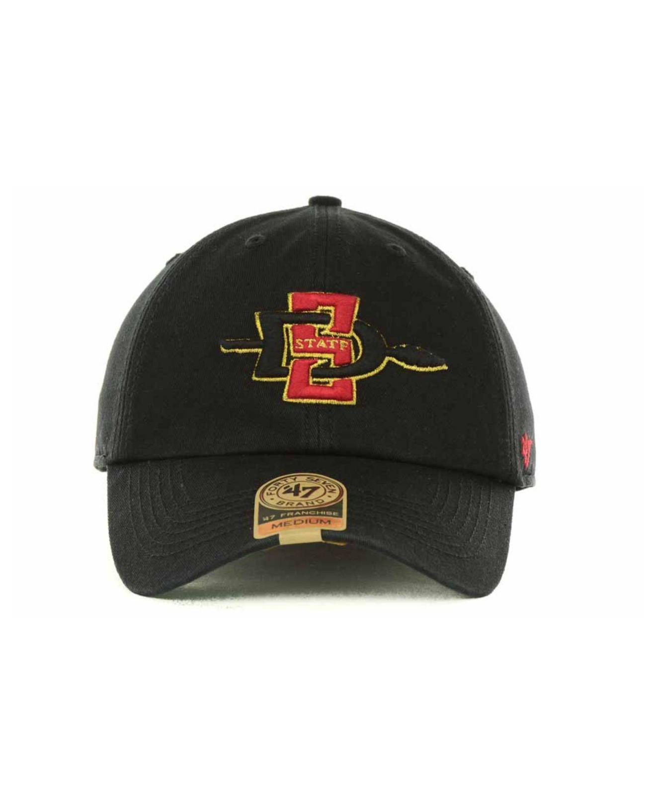 official photos df780 9f083 ... cheapest san diego state aztecs franchise cap for men lyst. view  fullscreen 3ec2a aad59