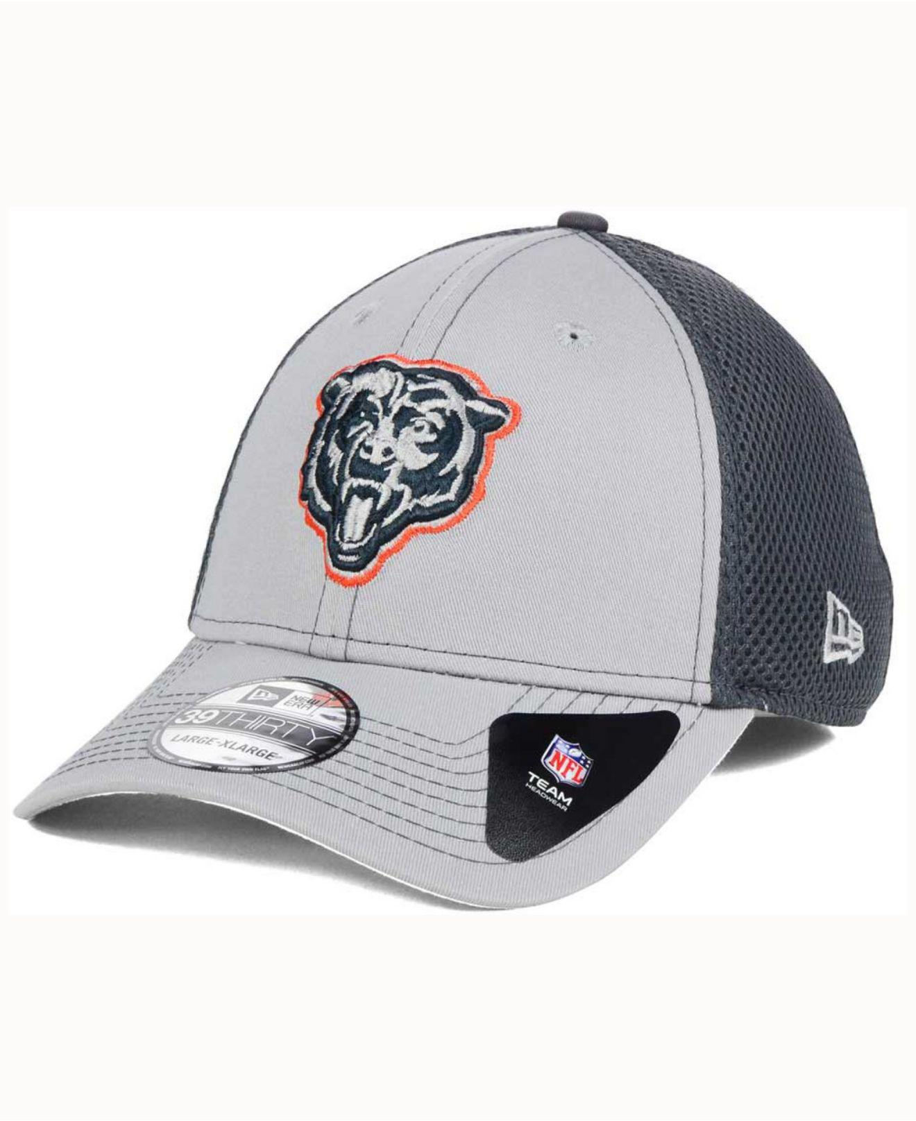 5630792eb29 KTZ - Chicago Bears Grayed Out Neo 39thirty Cap for Men - Lyst. View  fullscreen