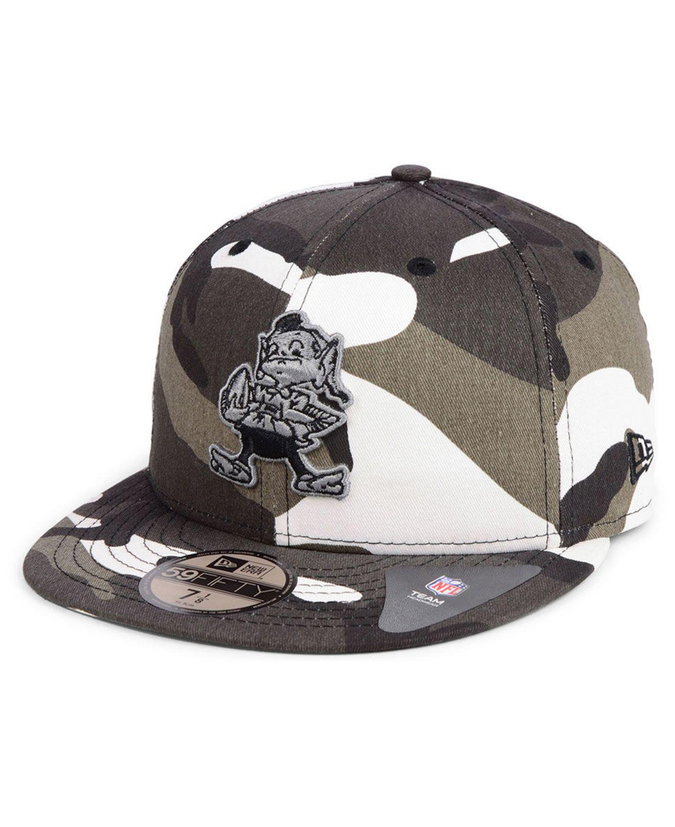 cf7725cd6fd Lyst - Ktz Cleveland Browns Urban Prism Pack 59fifty-fitted Cap for Men