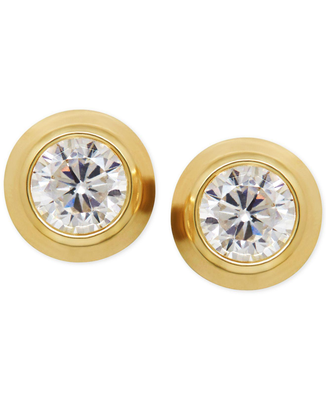 set zoom moissanite cut tiny il bezel brilliant fullxfull earrings listing stud round