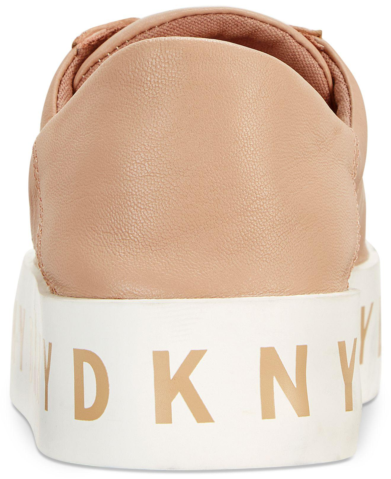 c08b4e677a8f Lyst - DKNY Banson Lace-up Platform Sneaker Sneakers