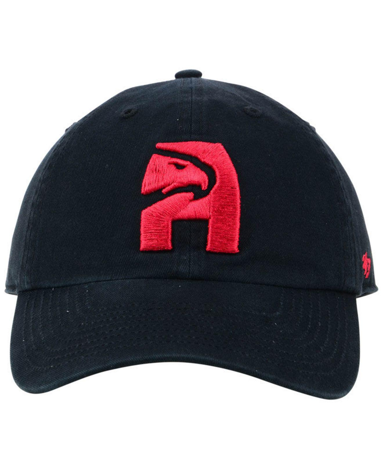 on sale 17962 a56ef Lyst - 47 Brand Atlanta Hawks Mash Up Clean Up Cap in Red for Men