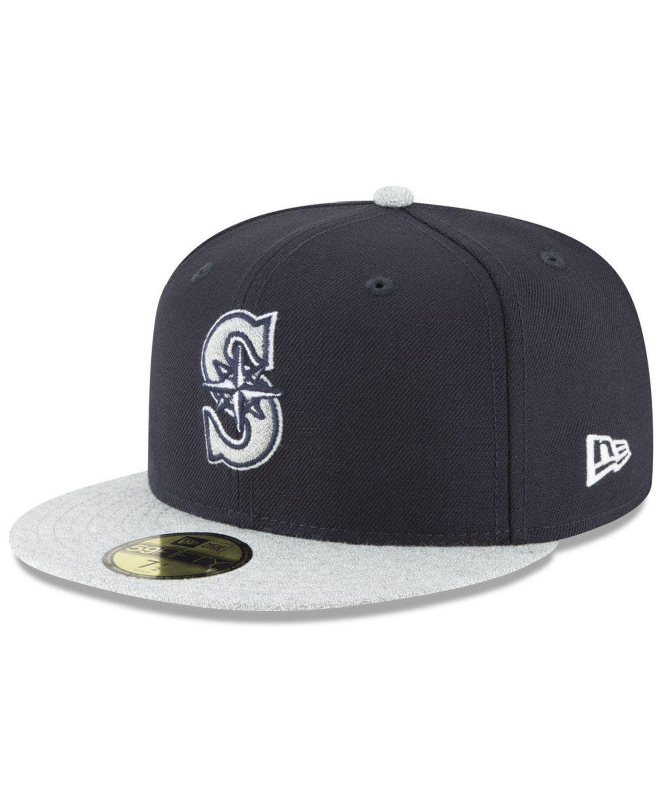 buy online 8da4f 4da1d ... sale ktz. mens blue seattle mariners pop color 59fifty fitted cap 6958a  f4f33