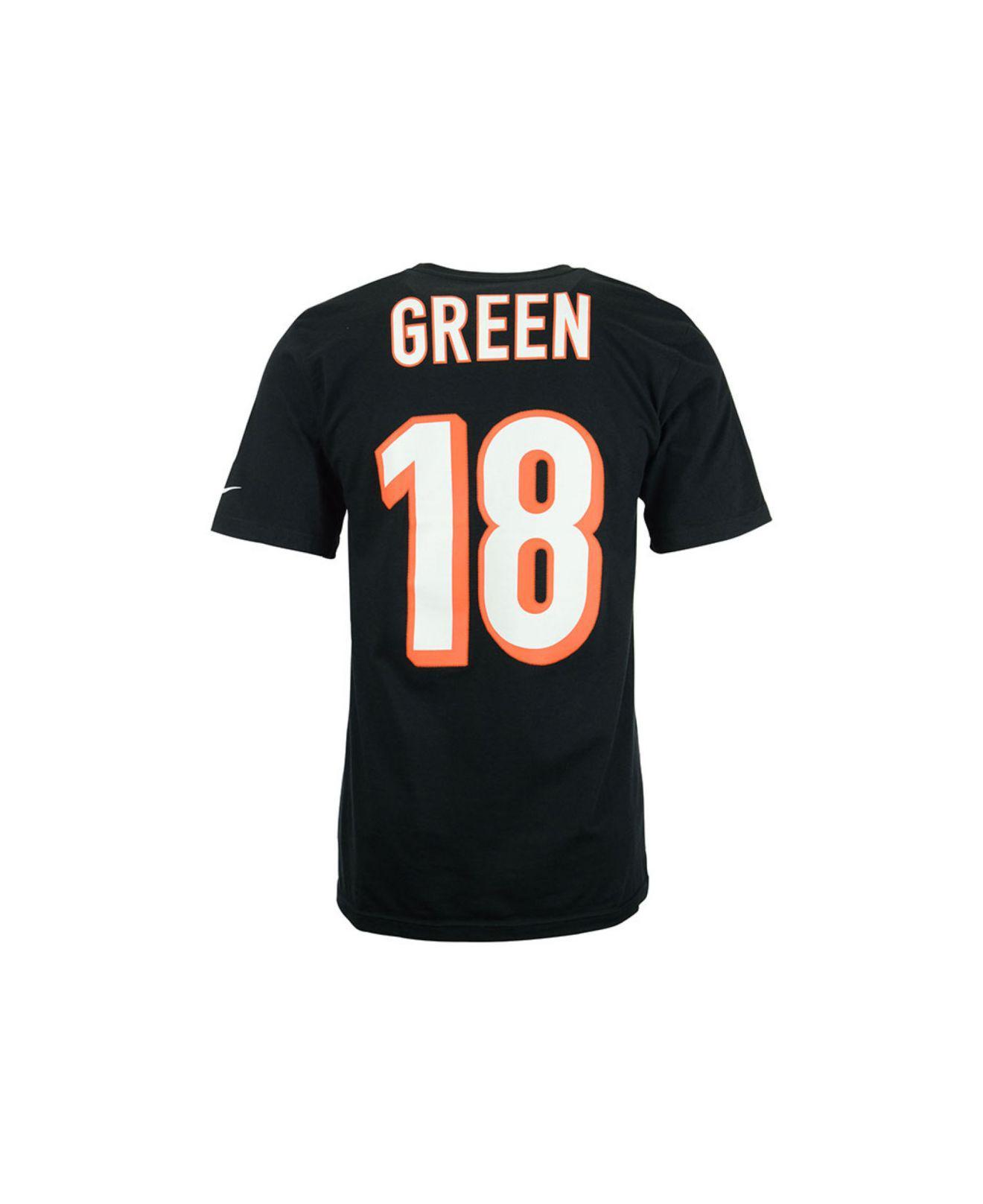 Nike. Black Men s A.j. Green Cincinnati Bengals Pride Name And Number  T-shirt cefced5fb