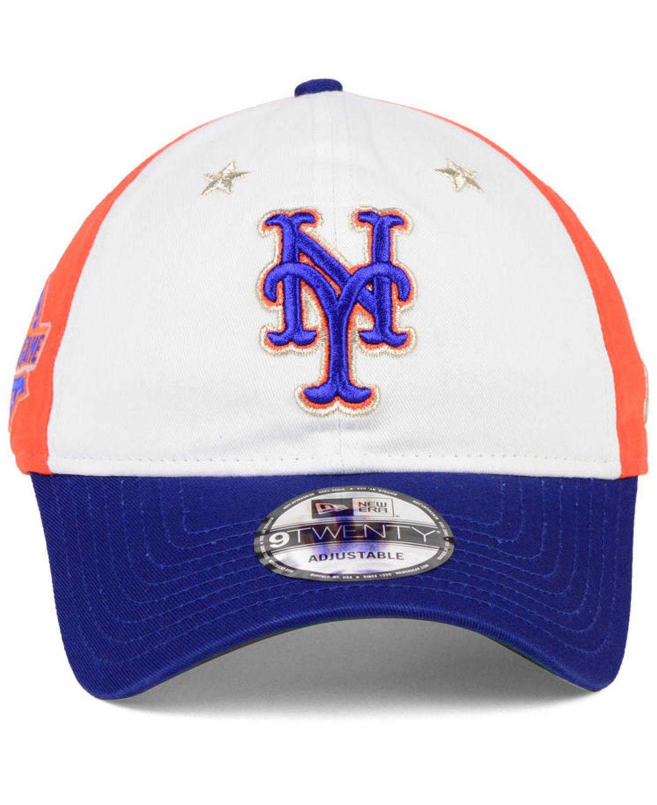 d4cf299711f48 ... 59fifty fitted hat white large e87e7 cebc8  usa lyst ktz new york mets  all star game 9twenty strapback cap 2018 for men bce10