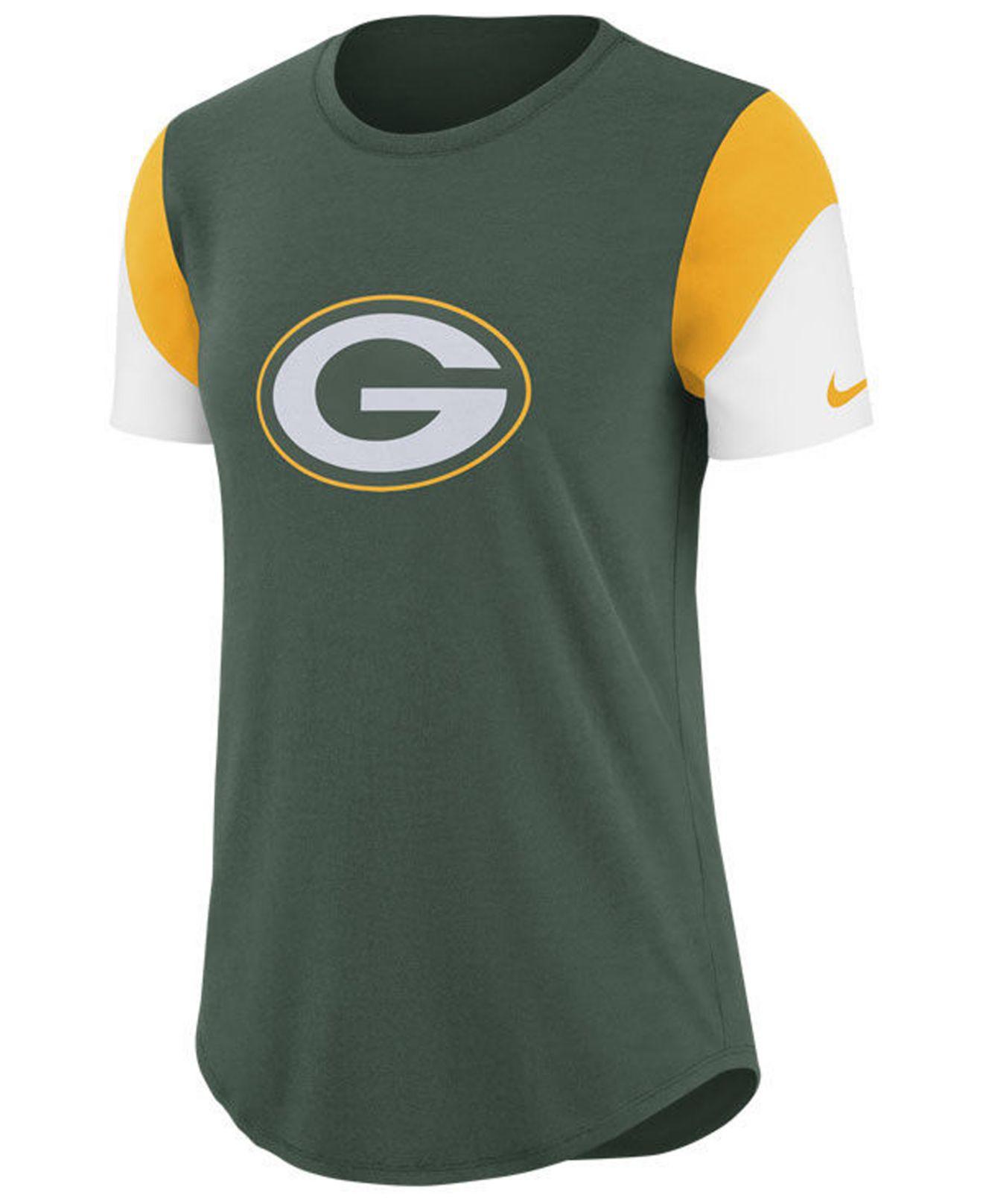 Lyst - Nike Green Bay Packers Tri-fan T-shirt in Green a020747d7