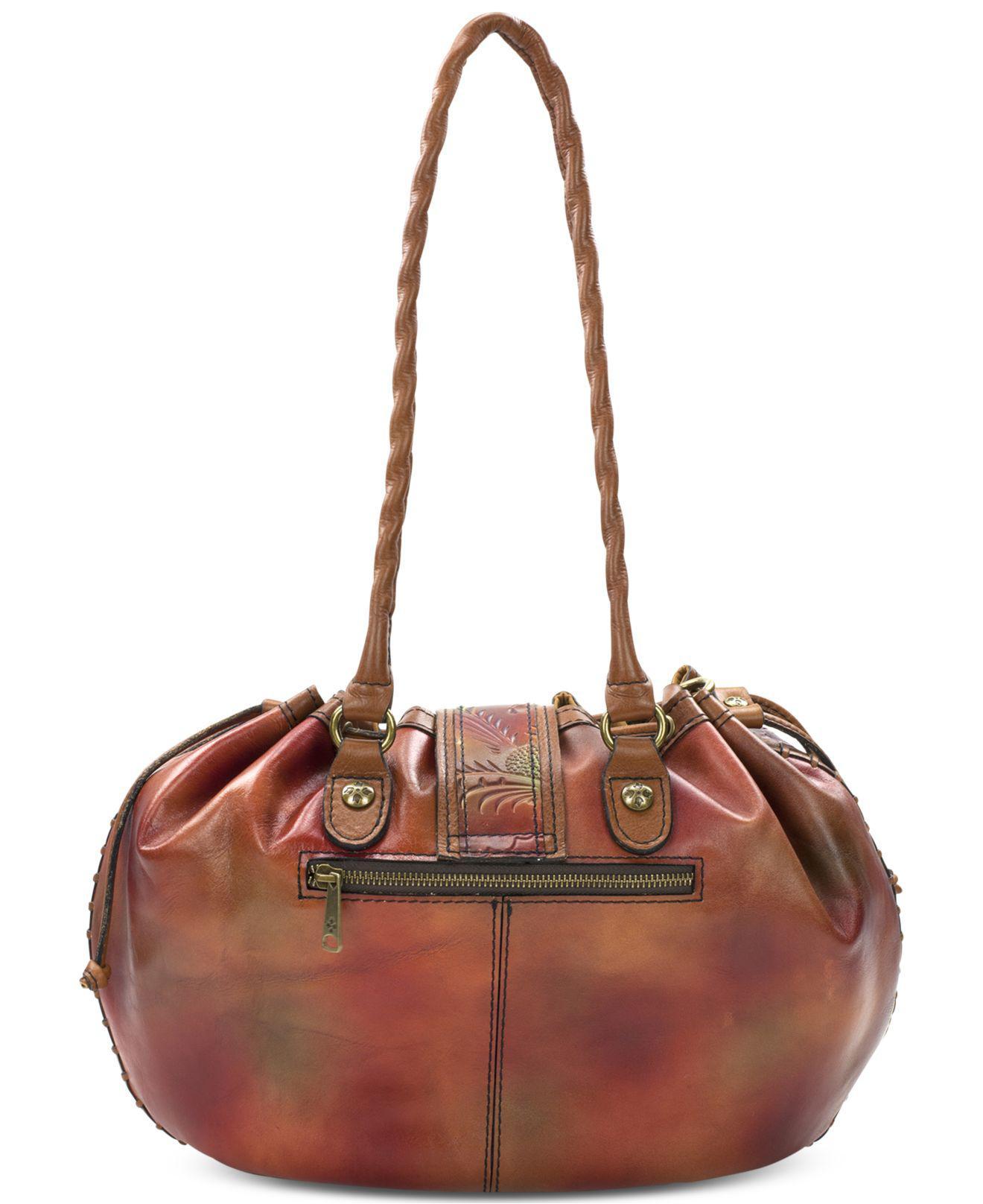 lyst patricia nash cuban elba extra large drawstring bag