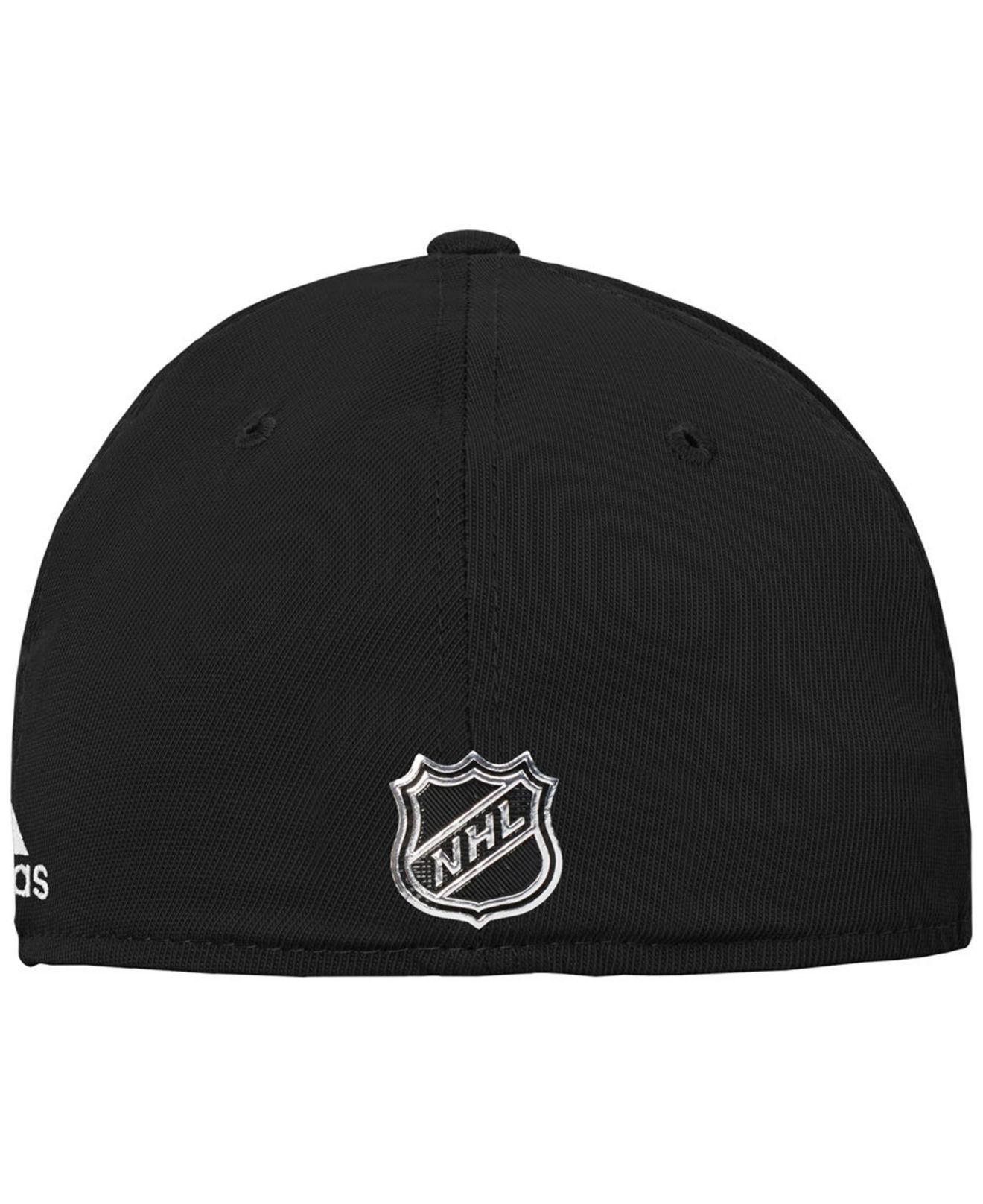 new styles 015e2 38169 ... get lyst adidas los angeles kings 2nd season flex cap in black for men  b4b06 dcc9d