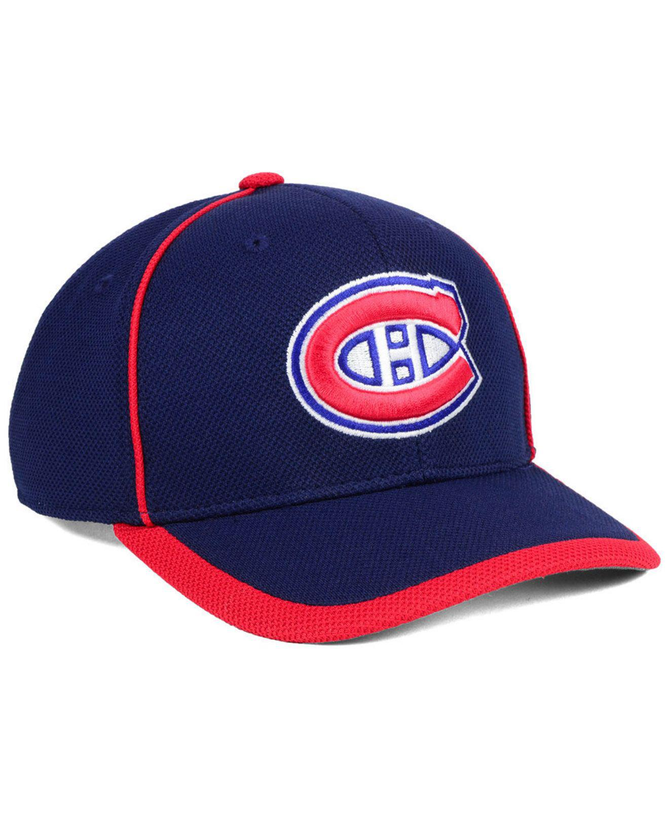 san francisco df468 670a0 Lyst - adidas Montreal Canadiens Clipper Adjustable Cap in Blue for Men