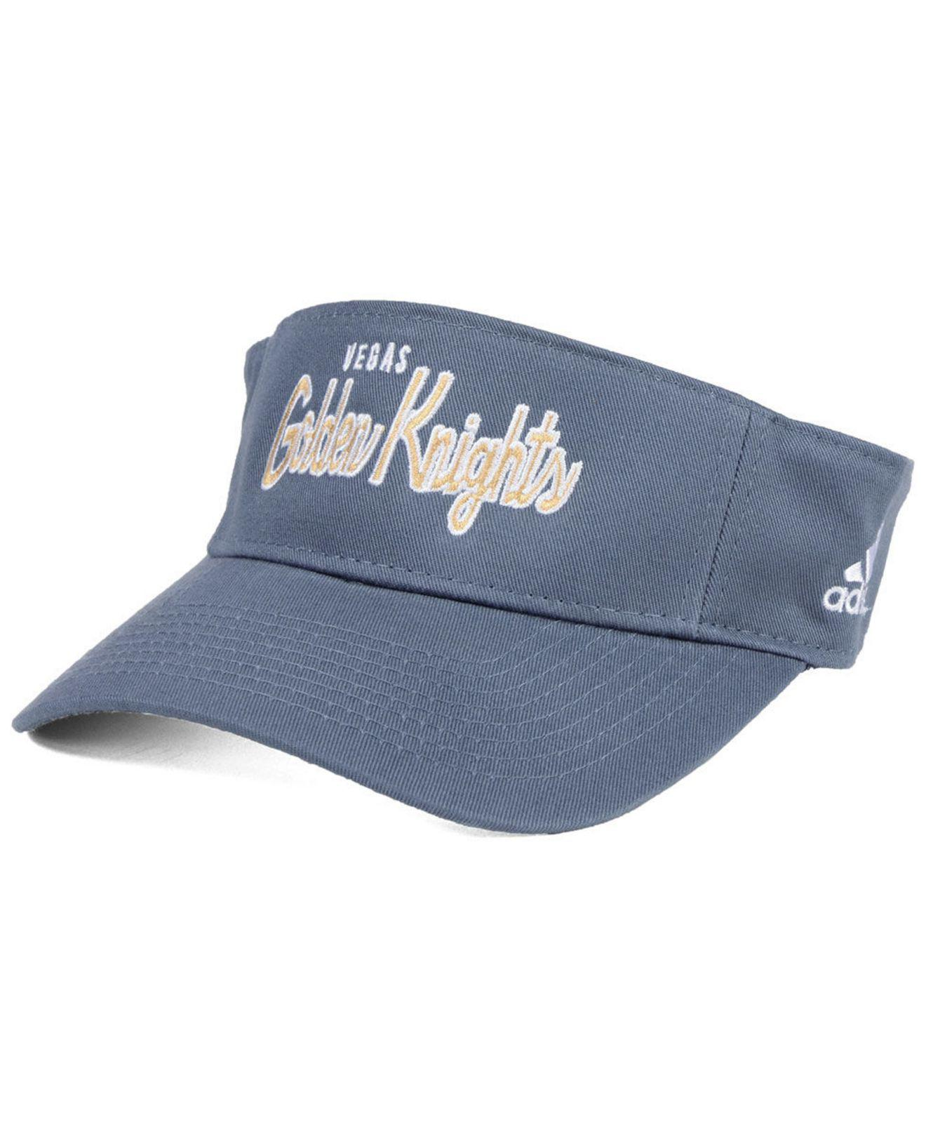 7dc00088469 Lyst - adidas Vegas Golden Knights Chase Visor in Gray